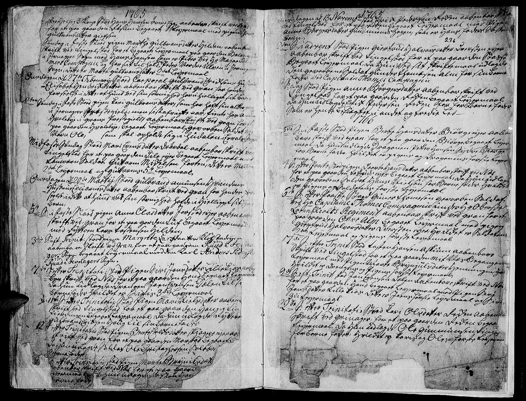 SAH, Gran prestekontor, Ministerialbok nr. 4, 1759-1775, s. 276