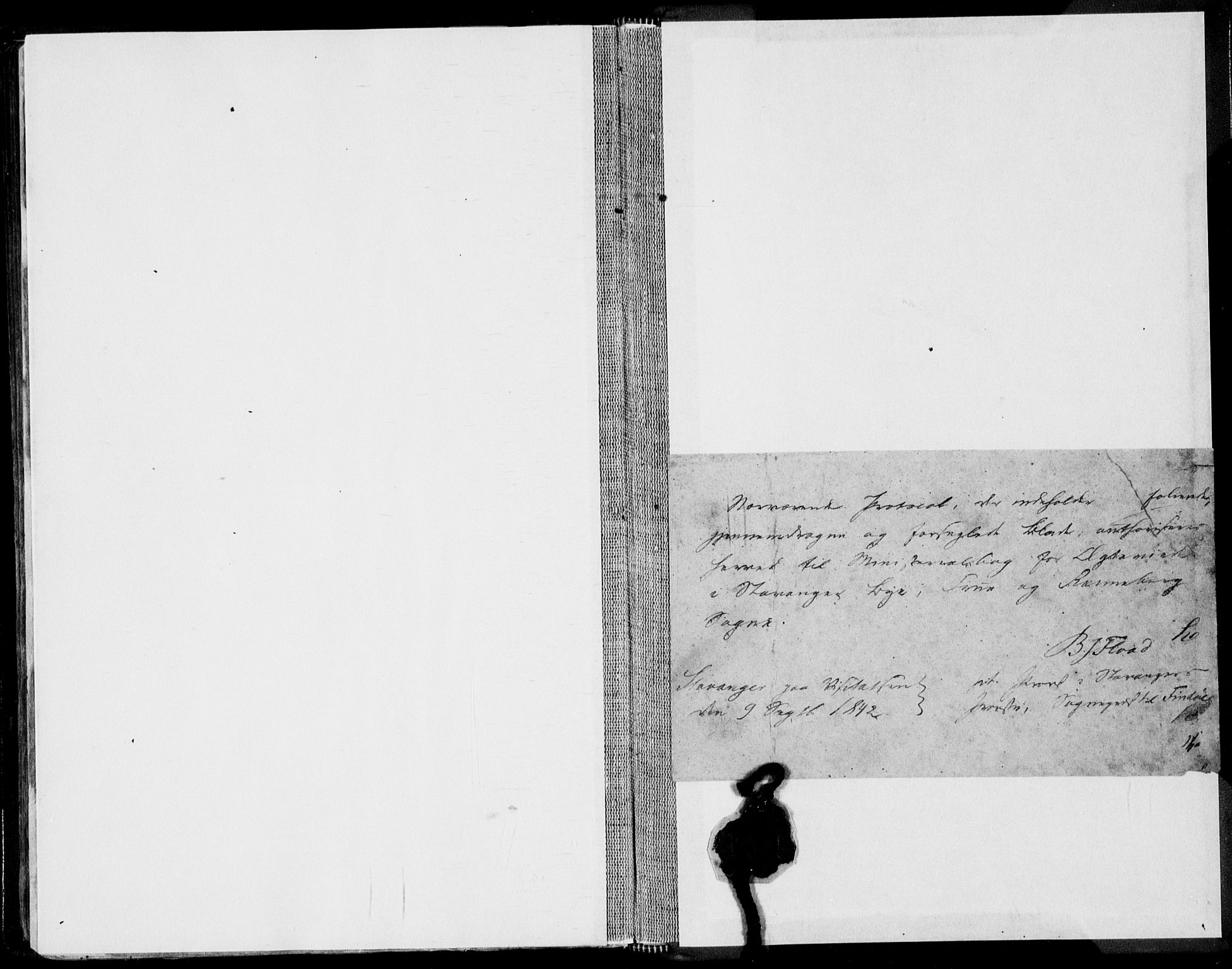 SAST, Domkirken sokneprestkontor, 30/30BA/L0015: Ministerialbok nr. A 14, 1842-1857