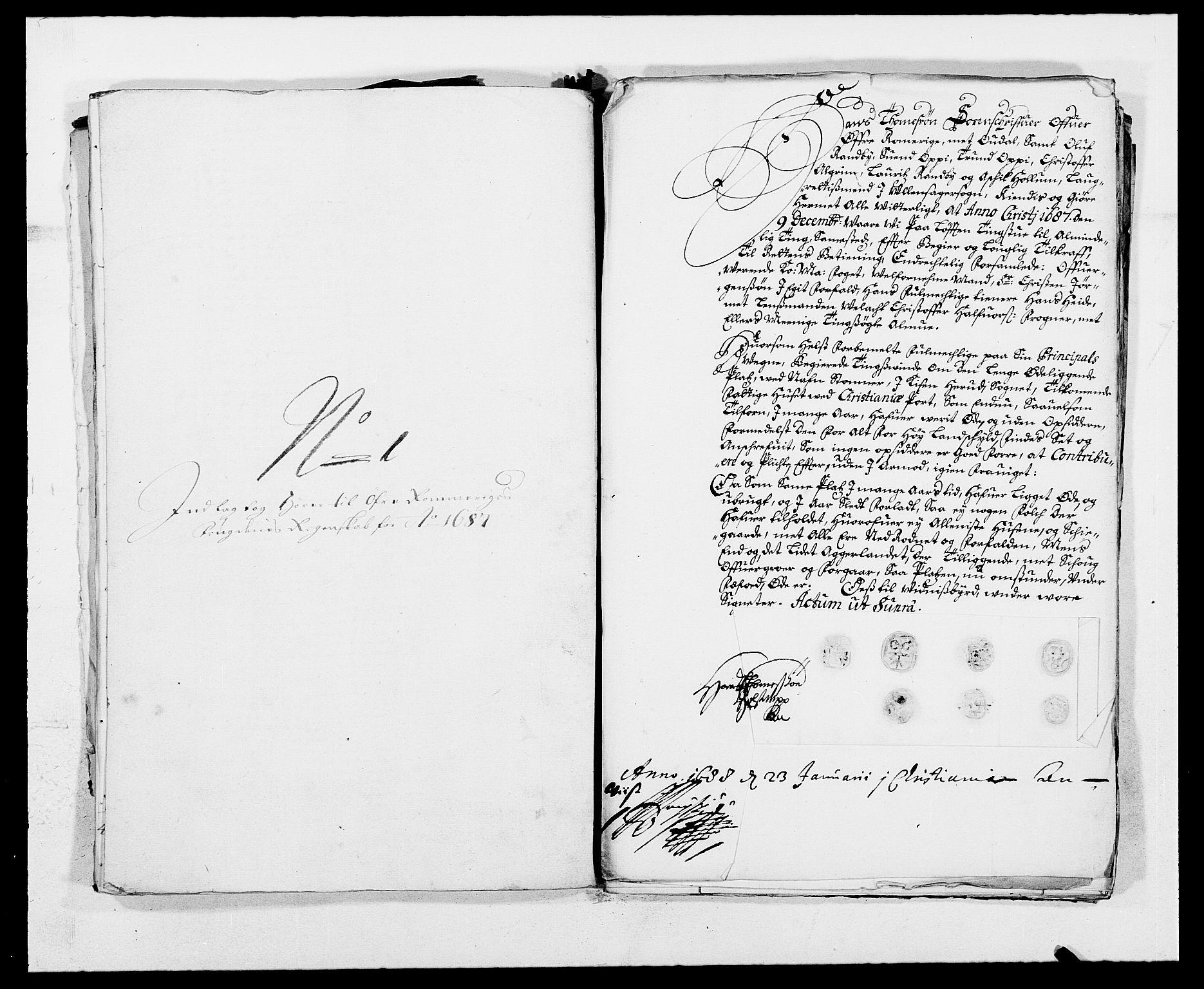 RA, Rentekammeret inntil 1814, Reviderte regnskaper, Fogderegnskap, R12/L0700: Fogderegnskap Øvre Romerike, 1687-1688, s. 198