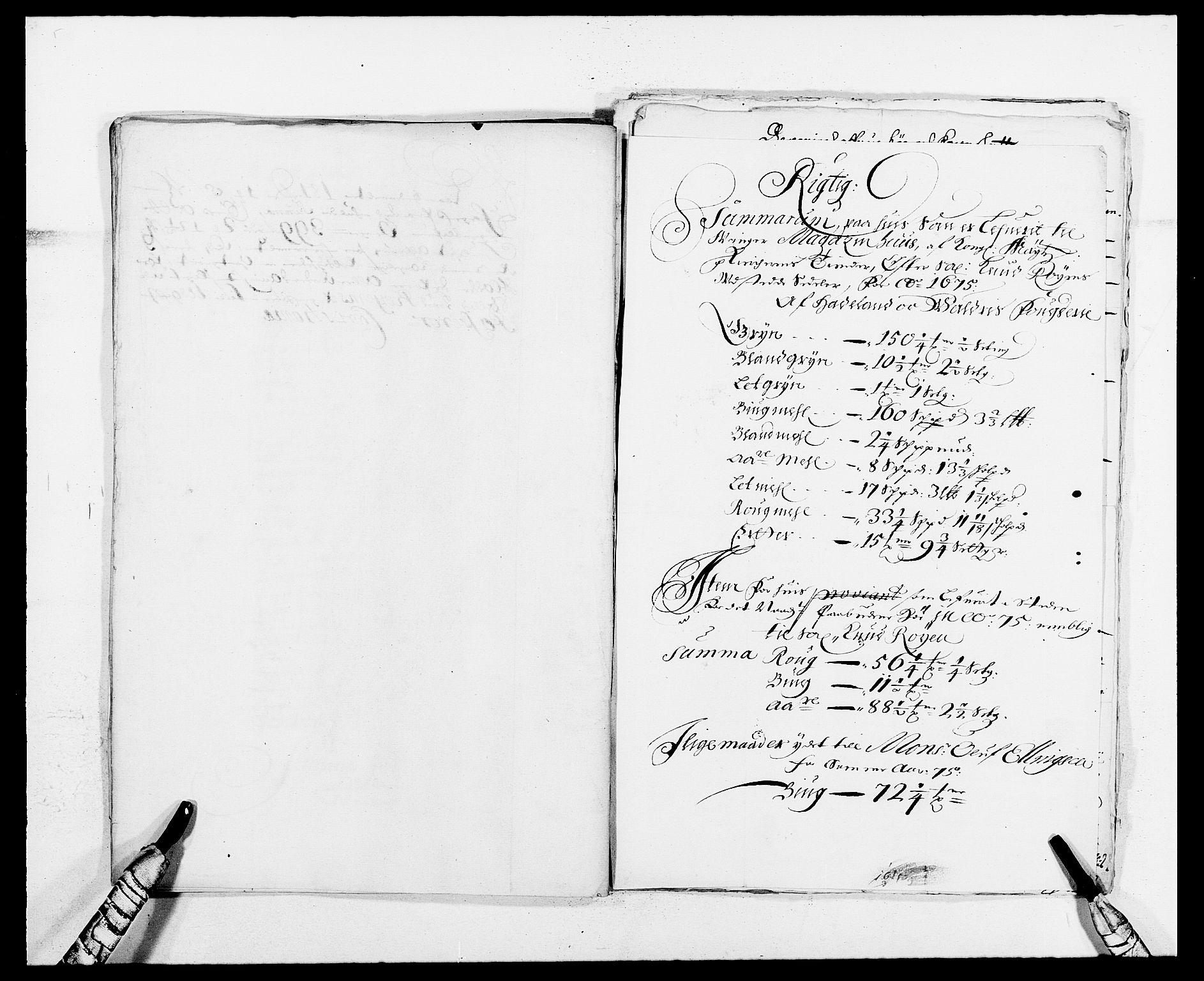 RA, Rentekammeret inntil 1814, Reviderte regnskaper, Fogderegnskap, R13/L0812: Fogderegnskap Solør, Odal og Østerdal, 1676, s. 199