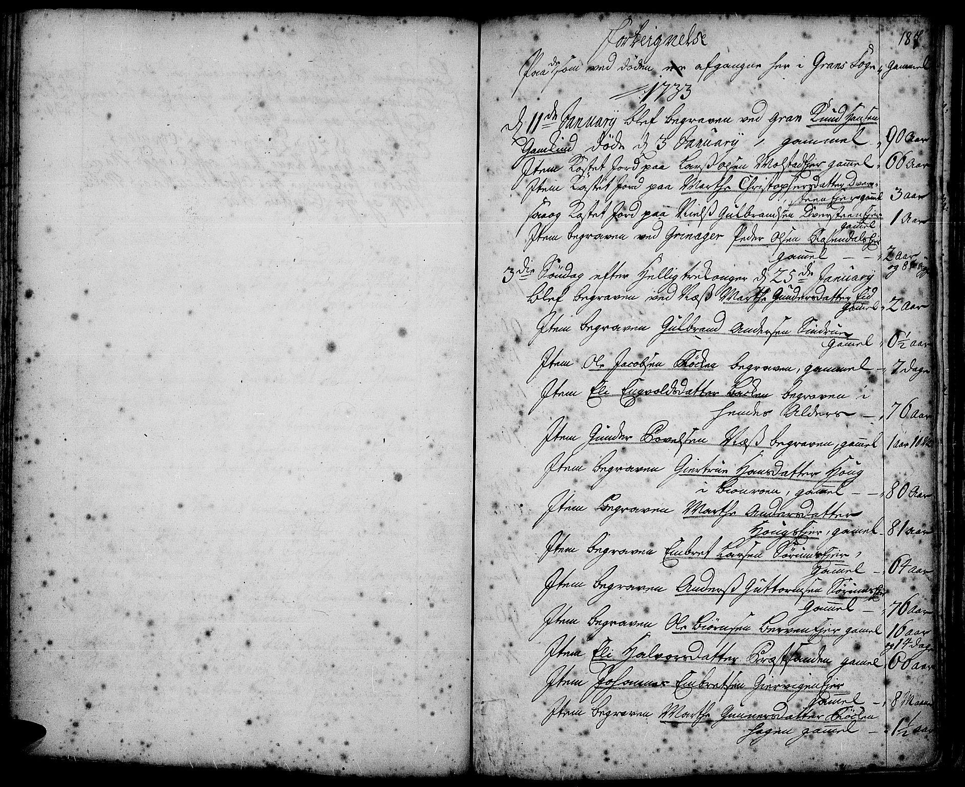 SAH, Gran prestekontor, Ministerialbok nr. 2, 1732-1744, s. 187