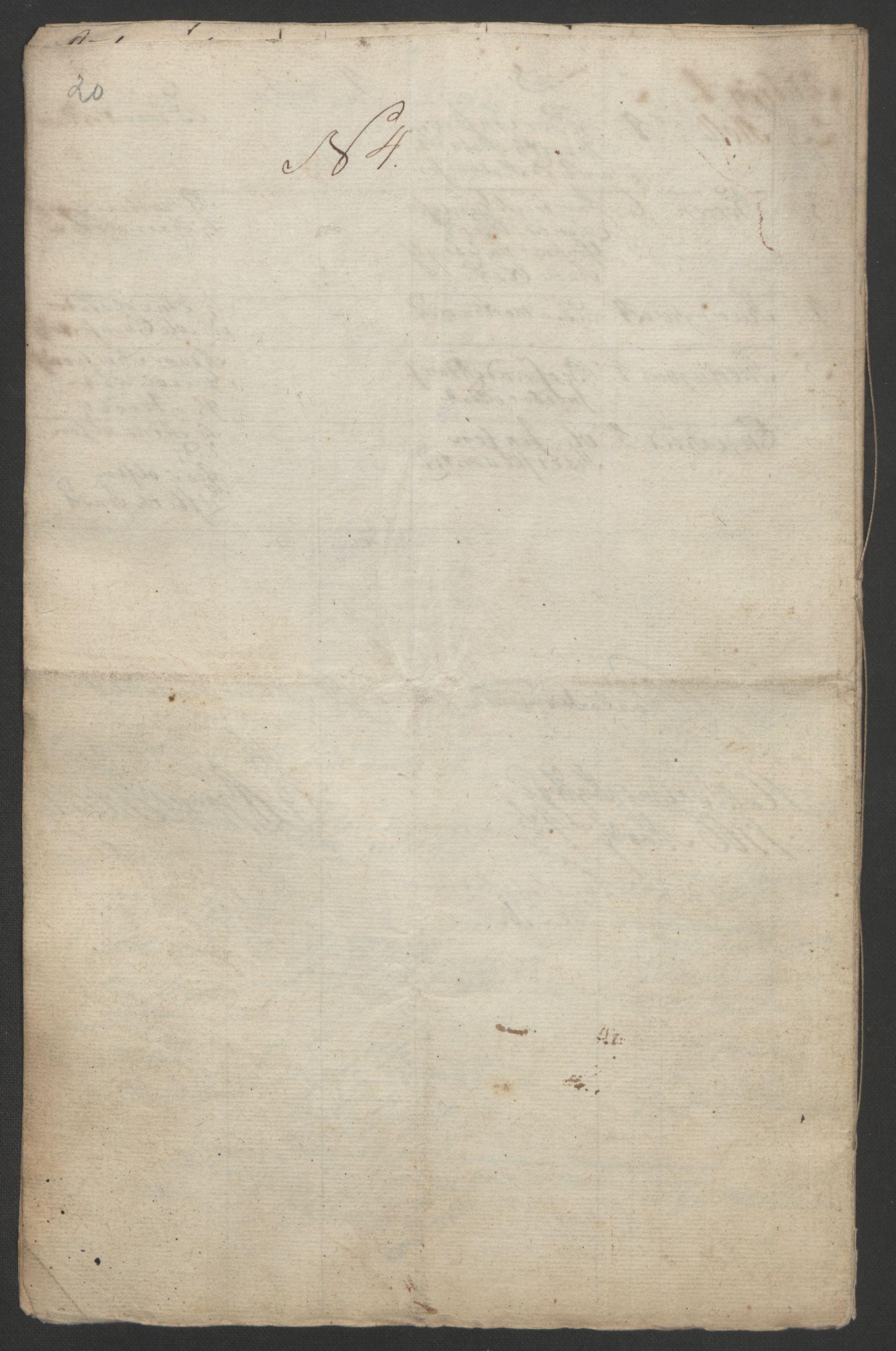 RA, Rentekammeret inntil 1814, Realistisk ordnet avdeling, Ol/L0021: [Gg 10]: Ekstraskatten, 23.09.1762. Orkdal og Gauldal, 1762-1767, s. 559