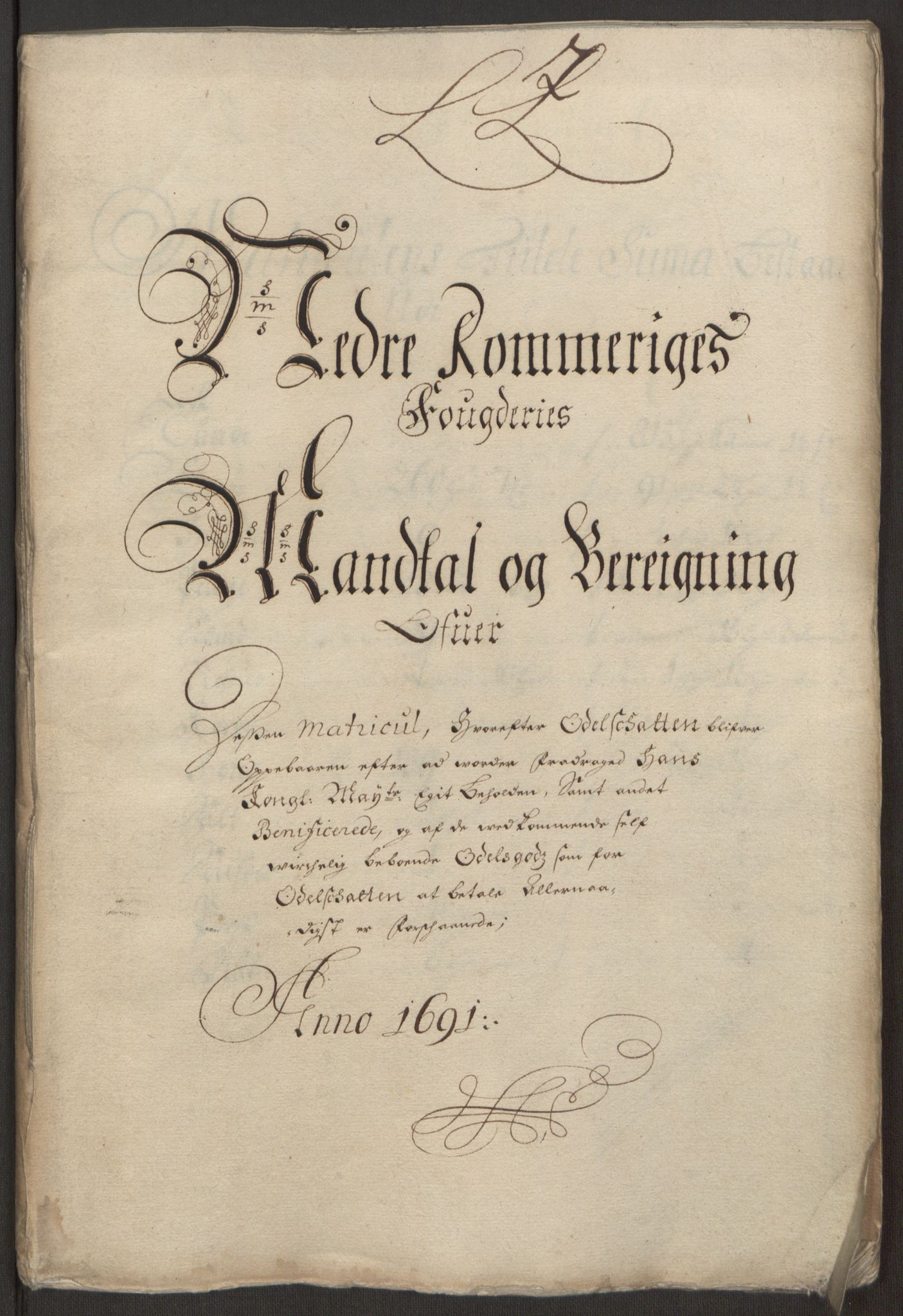 RA, Rentekammeret inntil 1814, Reviderte regnskaper, Fogderegnskap, R11/L0575: Fogderegnskap Nedre Romerike, 1691, s. 75