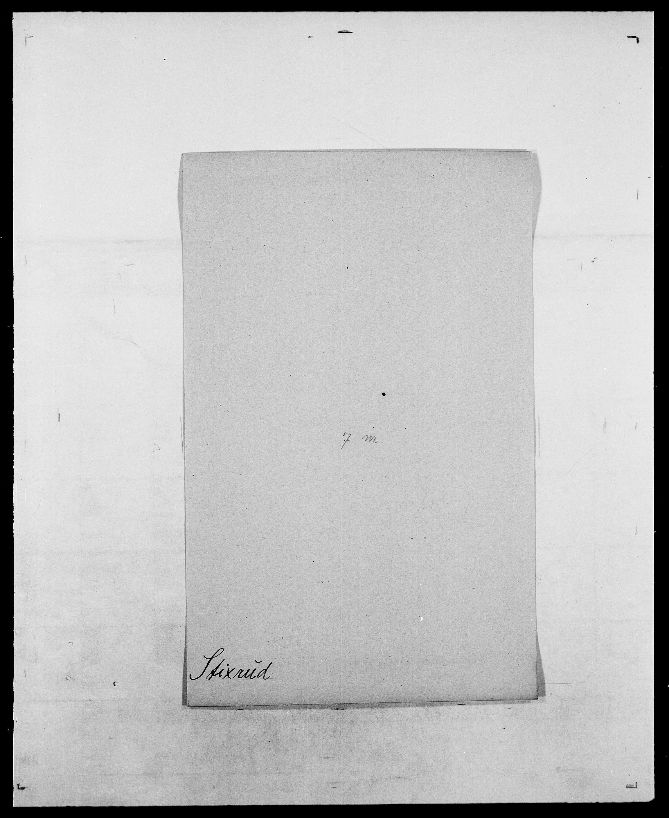 SAO, Delgobe, Charles Antoine - samling, D/Da/L0037: Steen, Sthen, Stein - Svare, Svanige, Svanne, se også Svanning og Schwane, s. 396