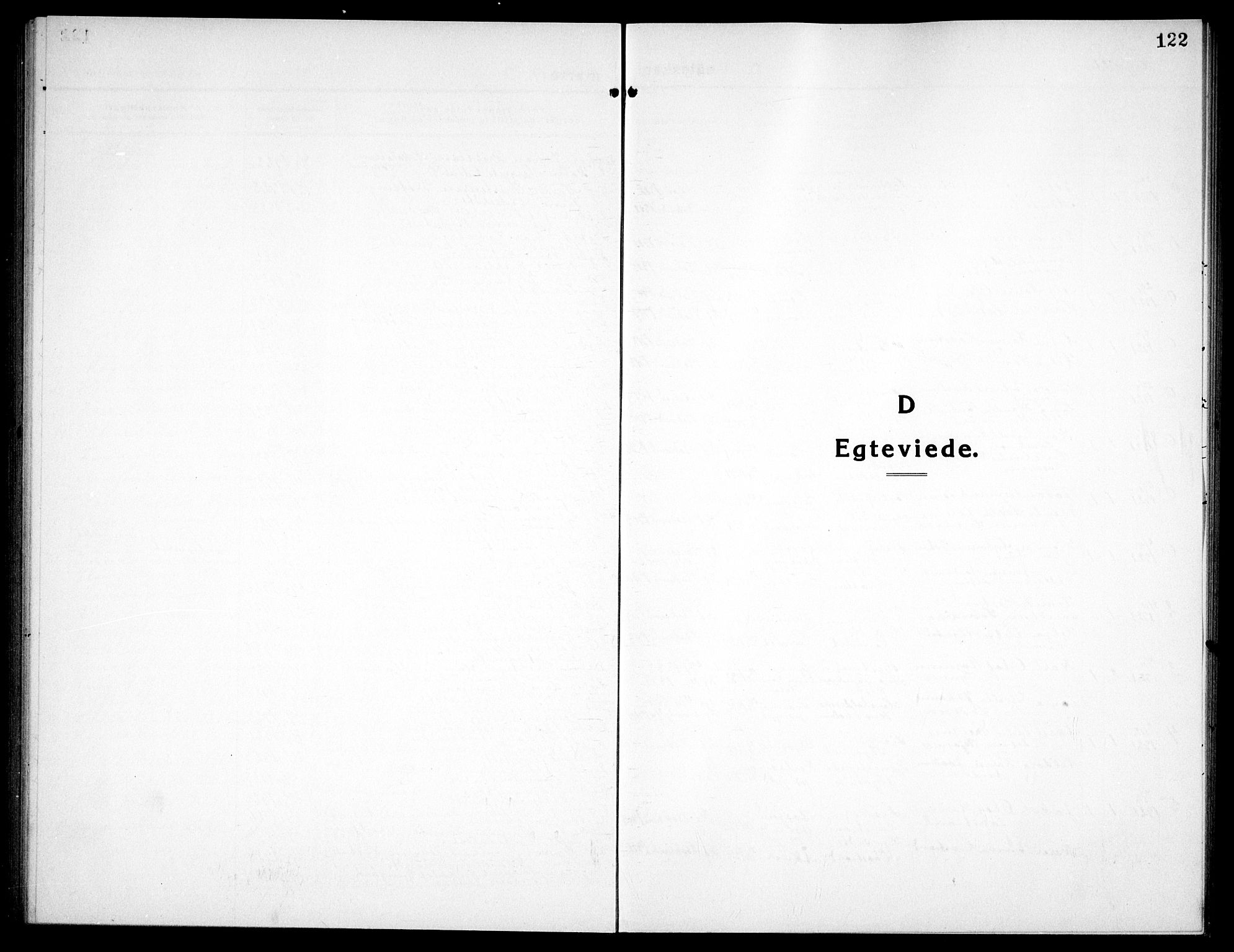 SAT, Ministerialprotokoller, klokkerbøker og fødselsregistre - Sør-Trøndelag, 656/L0696: Klokkerbok nr. 656C02, 1921-1937, s. 122