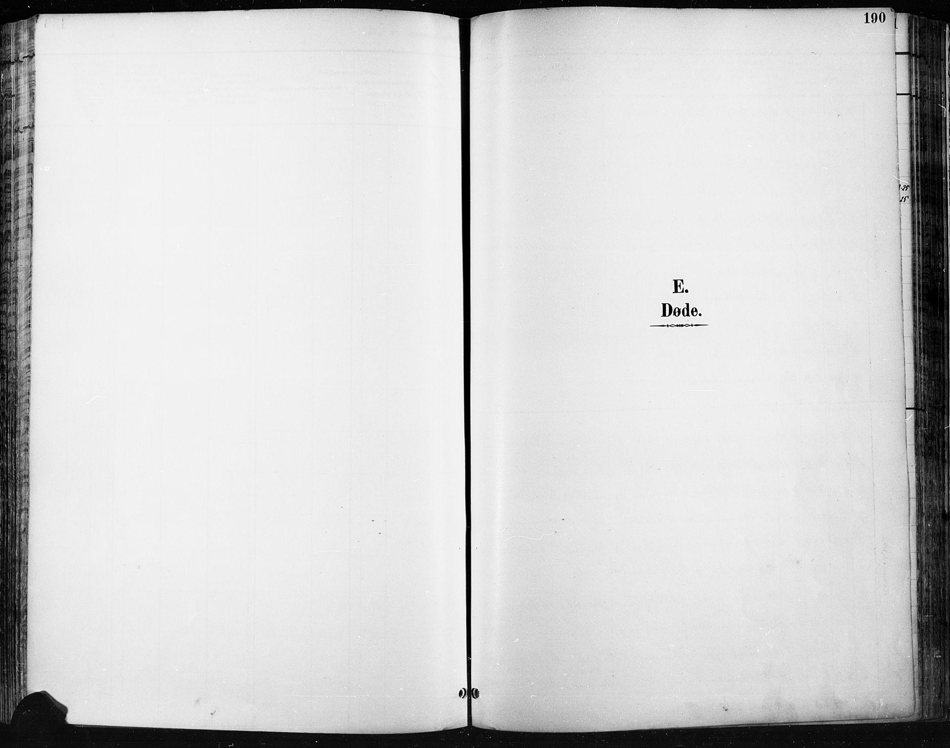 SAH, Jevnaker prestekontor, Ministerialbok nr. 9, 1891-1901, s. 190