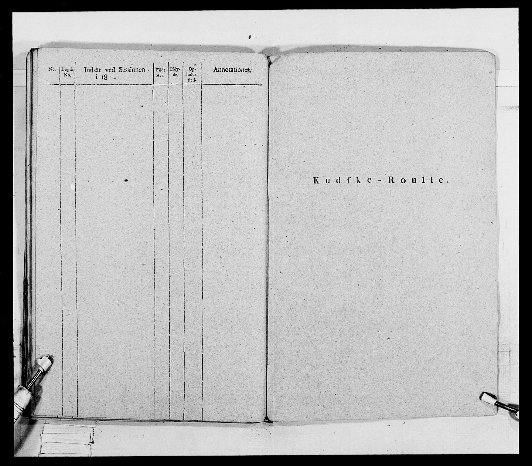 RA, Generalitets- og kommissariatskollegiet, Det kongelige norske kommissariatskollegium, E/Eh/L0069: Opplandske gevorbne infanteriregiment, 1810-1818, s. 262