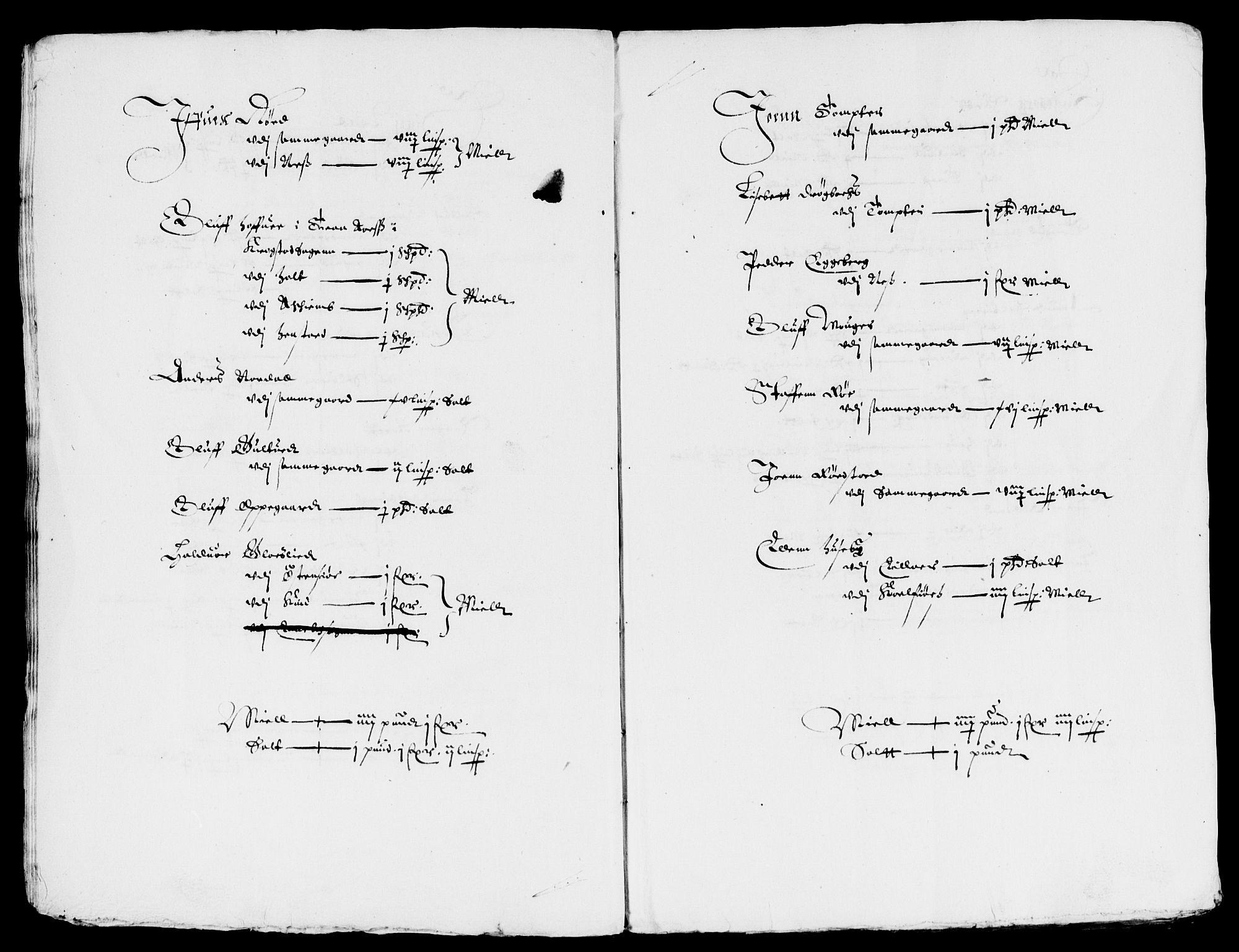 RA, Rentekammeret inntil 1814, Reviderte regnskaper, Lensregnskaper, R/Rb/Rba/L0123: Akershus len, 1635-1636