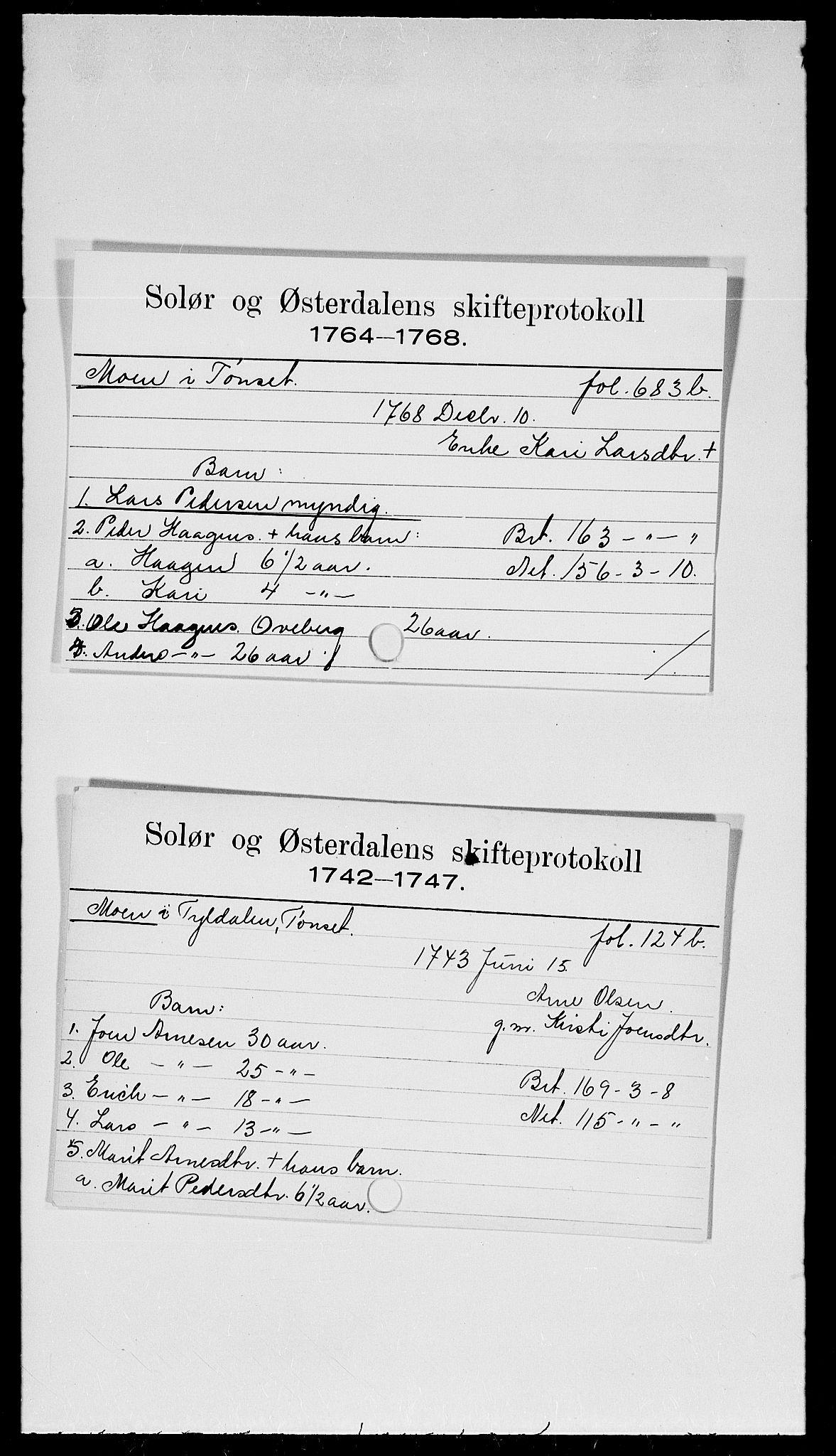 SAH, Solør og Østerdalen sorenskriveri, J, 1716-1774, s. 9034