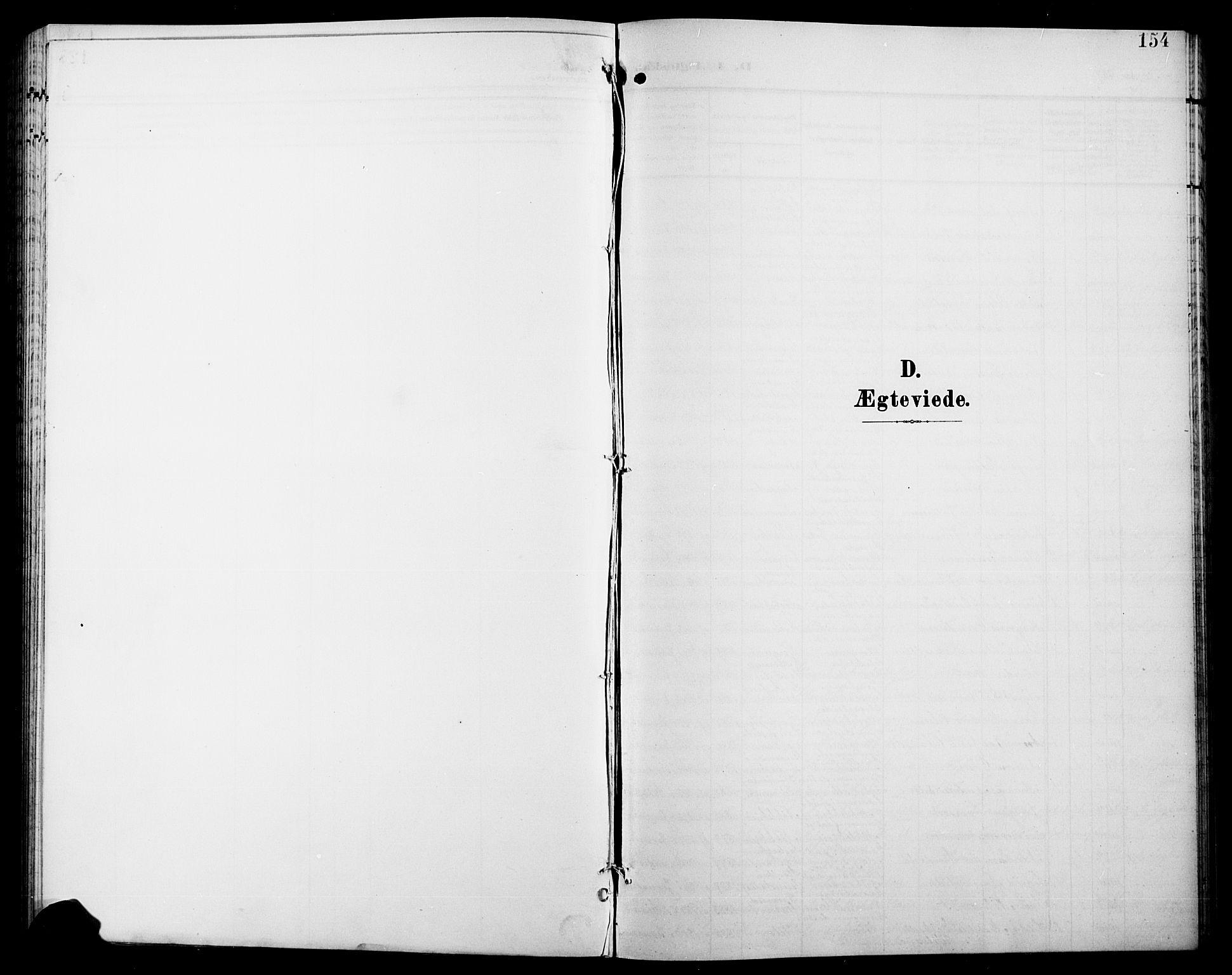 SAH, Jevnaker prestekontor, Klokkerbok nr. 4, 1907-1918, s. 154