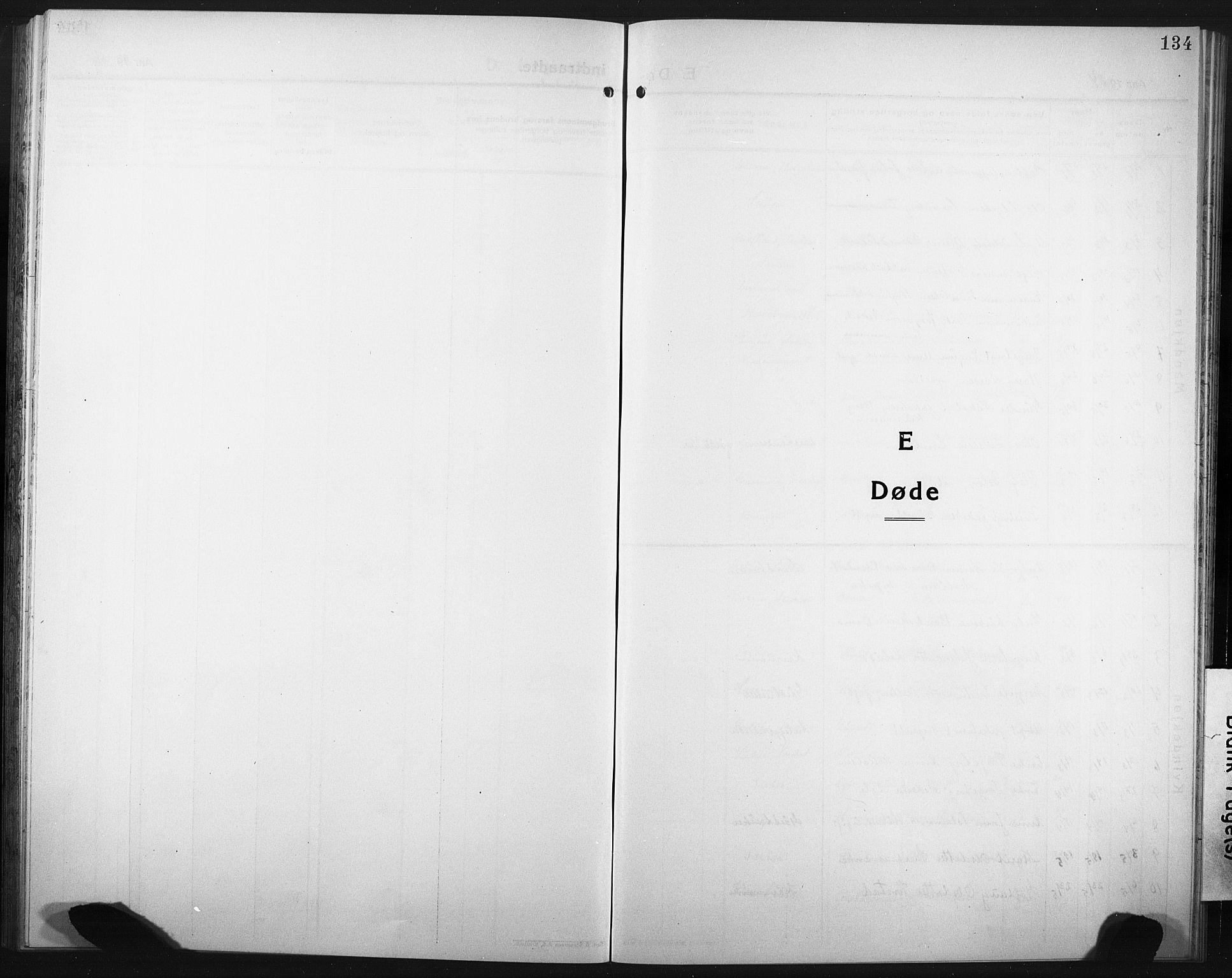 SAT, Ministerialprotokoller, klokkerbøker og fødselsregistre - Nord-Trøndelag, 749/L0480: Klokkerbok nr. 749C02, 1924-1932, s. 134