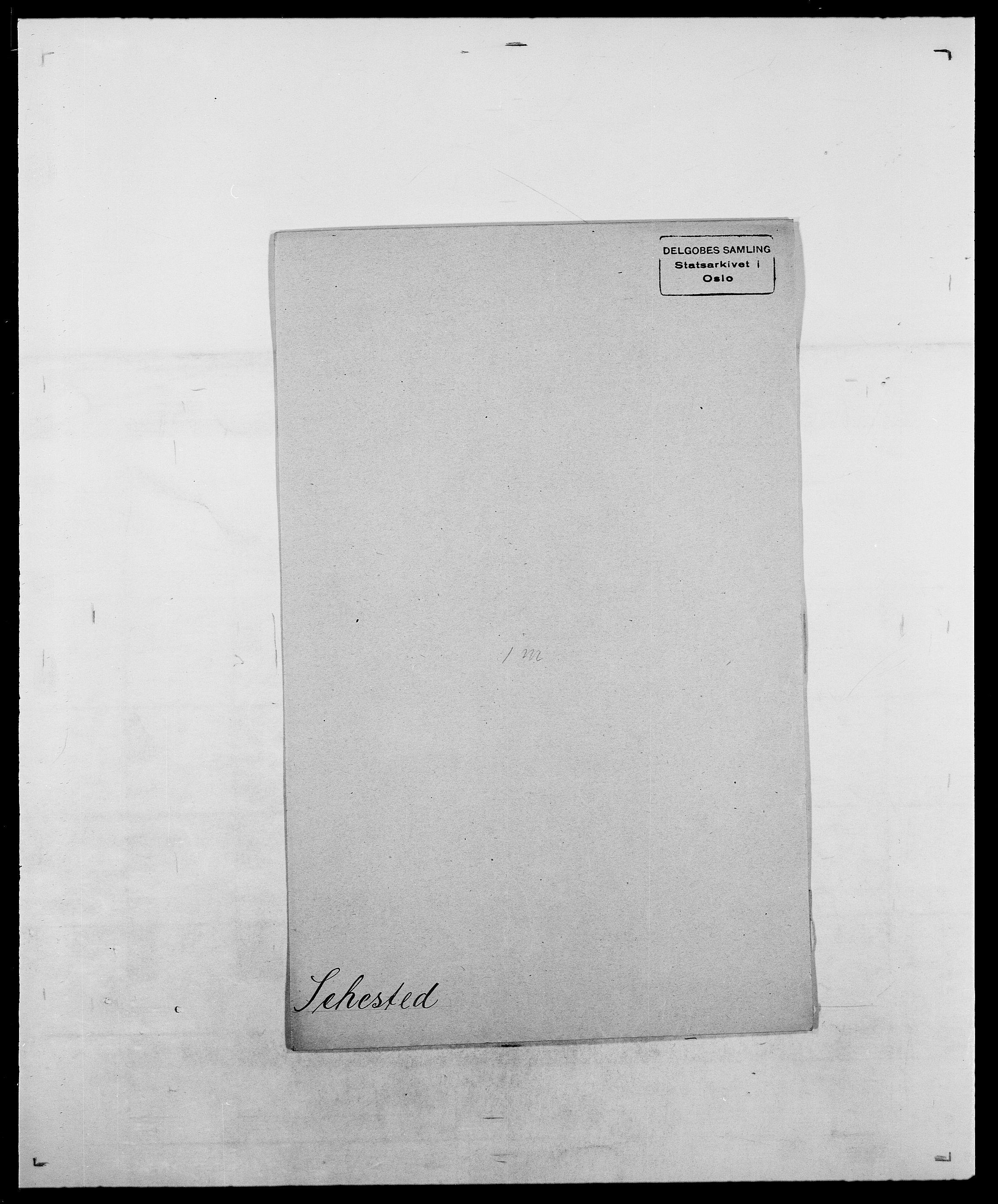 SAO, Delgobe, Charles Antoine - samling, D/Da/L0035: Schnabel - sjetman, s. 599