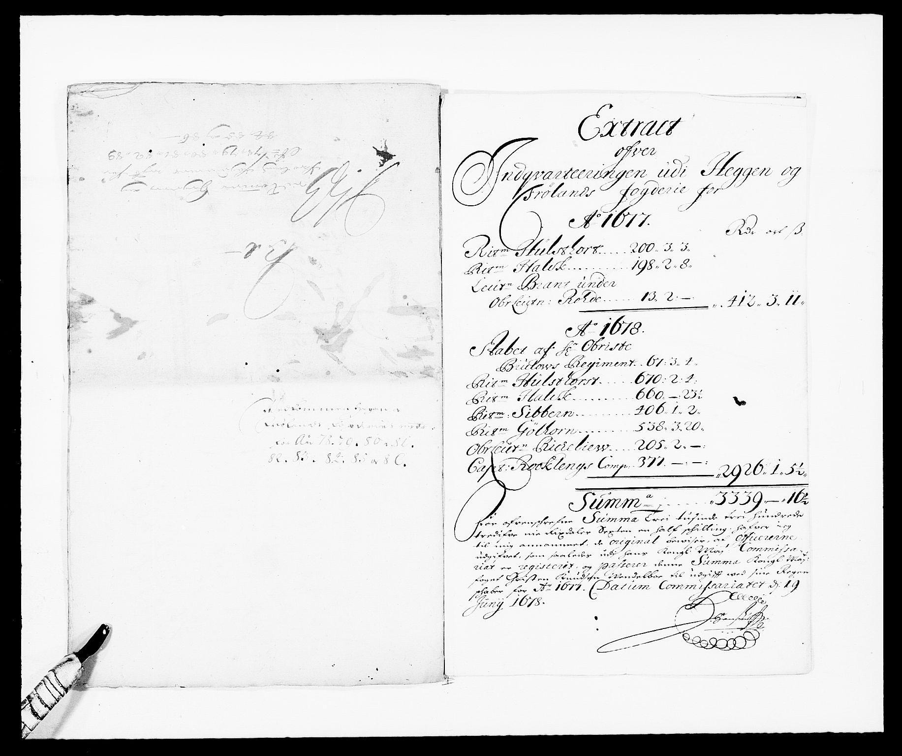 RA, Rentekammeret inntil 1814, Reviderte regnskaper, Fogderegnskap, R06/L0281: Fogderegnskap Heggen og Frøland, 1678-1686, s. 137
