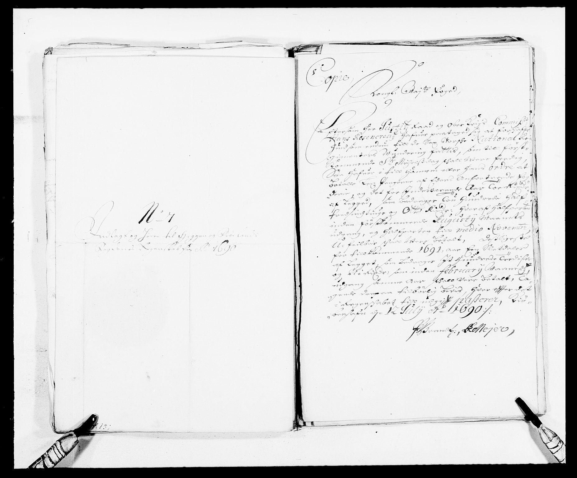 RA, Rentekammeret inntil 1814, Reviderte regnskaper, Fogderegnskap, R06/L0282: Fogderegnskap Heggen og Frøland, 1687-1690, s. 260
