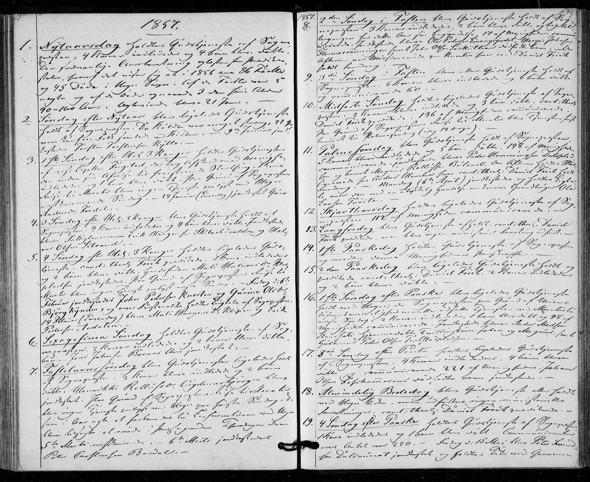 SAT, Ministerialprotokoller, klokkerbøker og fødselsregistre - Nord-Trøndelag, 703/L0028: Ministerialbok nr. 703A01, 1850-1862, s. 223
