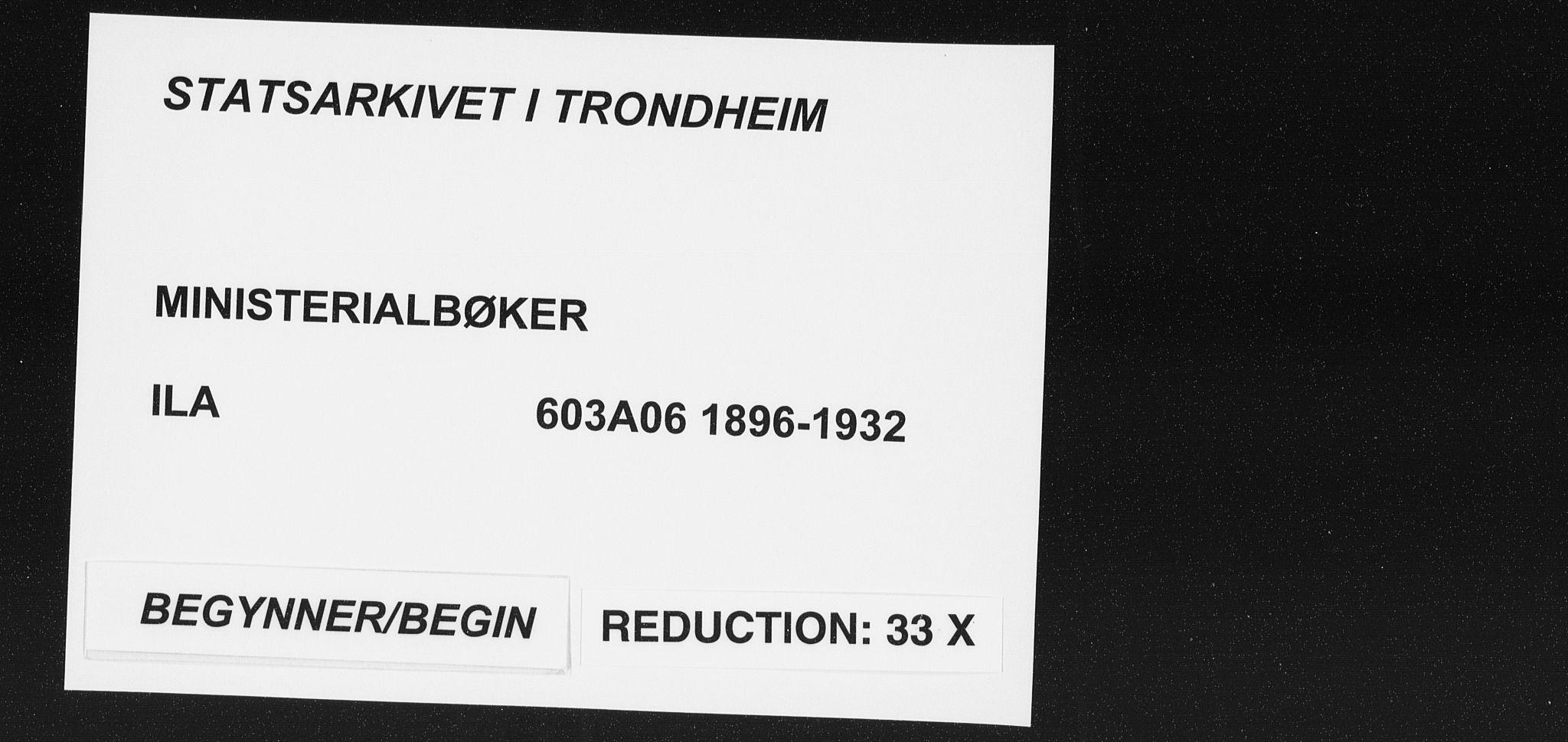 SAT, Ministerialprotokoller, klokkerbøker og fødselsregistre - Sør-Trøndelag, 603/L0167: Ministerialbok nr. 603A06, 1896-1932
