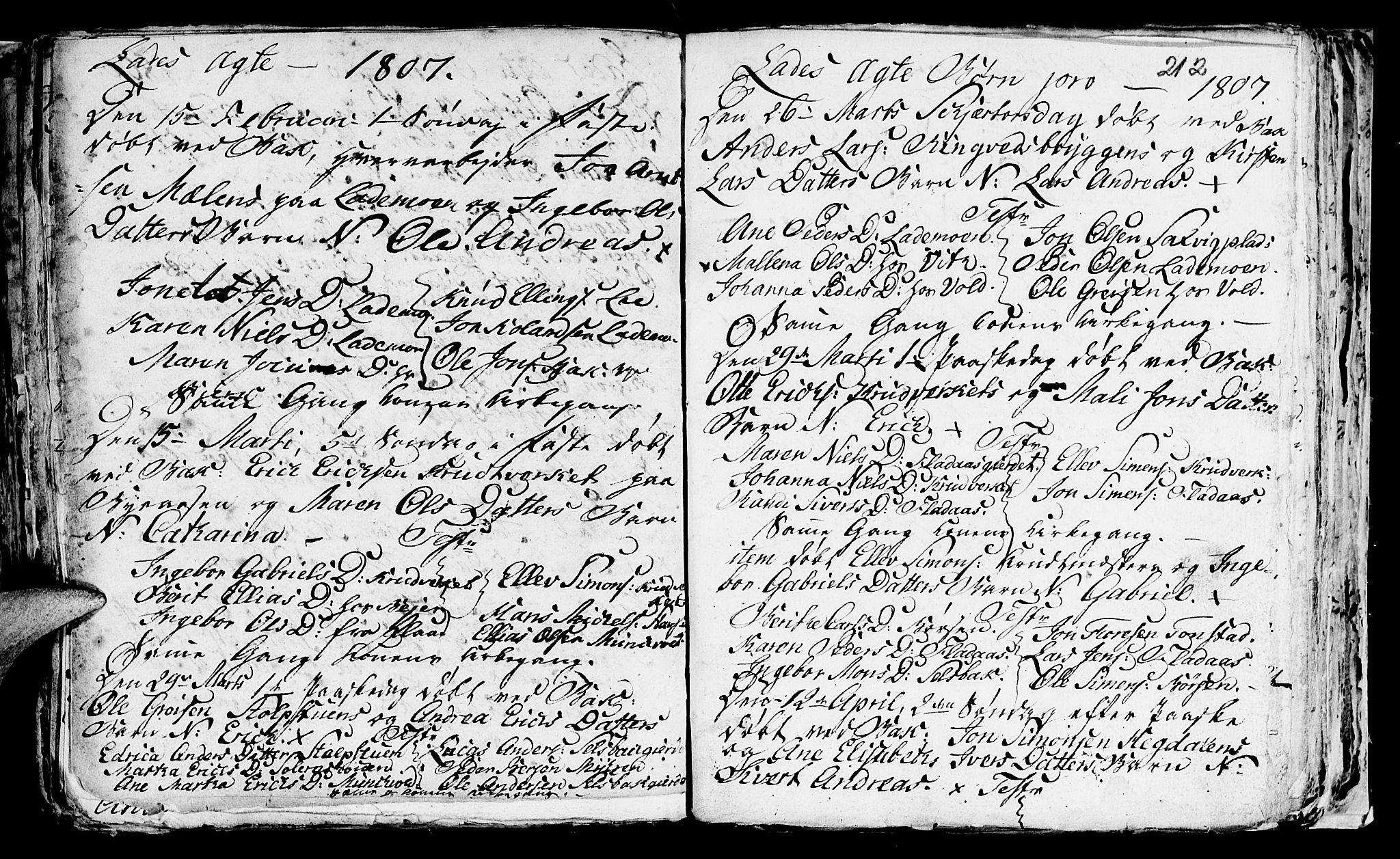 SAT, Ministerialprotokoller, klokkerbøker og fødselsregistre - Sør-Trøndelag, 606/L0305: Klokkerbok nr. 606C01, 1757-1819, s. 212