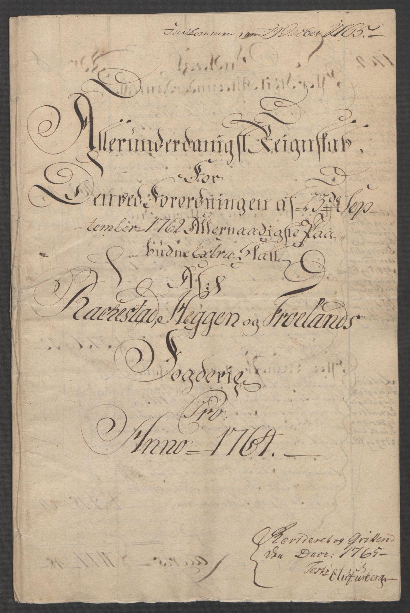 RA, Rentekammeret inntil 1814, Reviderte regnskaper, Fogderegnskap, R07/L0413: Ekstraskatten Rakkestad, Heggen og Frøland, 1762-1772, s. 178