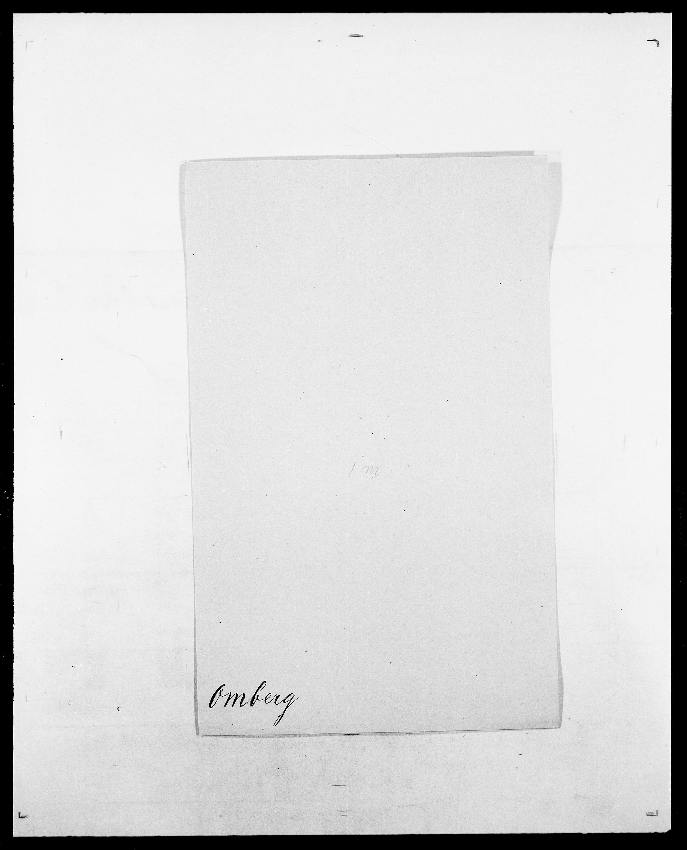SAO, Delgobe, Charles Antoine - samling, D/Da/L0029: Obel - Oxholm, s. 267