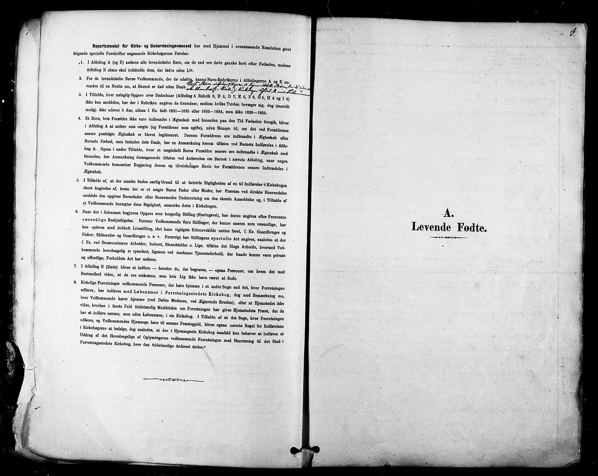 SATØ, Tana sokneprestkontor, H/Ha/L0004kirke: Ministerialbok nr. 4, 1878-1891, s. 3