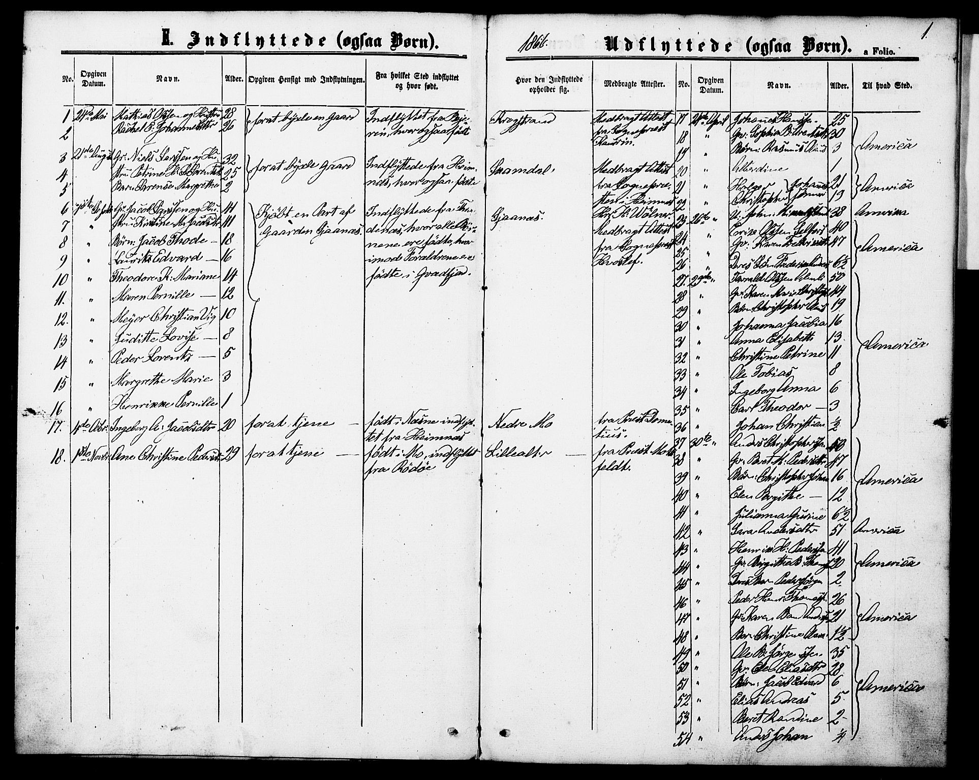 SAT, Ministerialprotokoller, klokkerbøker og fødselsregistre - Nordland, 827/L0398: Ministerialbok nr. 827A10, 1866-1886, s. 1