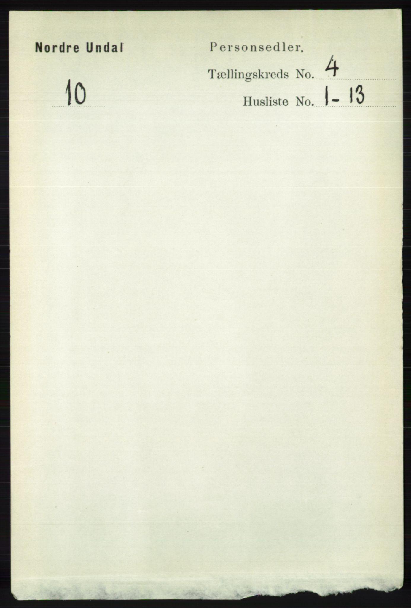 RA, Folketelling 1891 for 1028 Nord-Audnedal herred, 1891, s. 1094