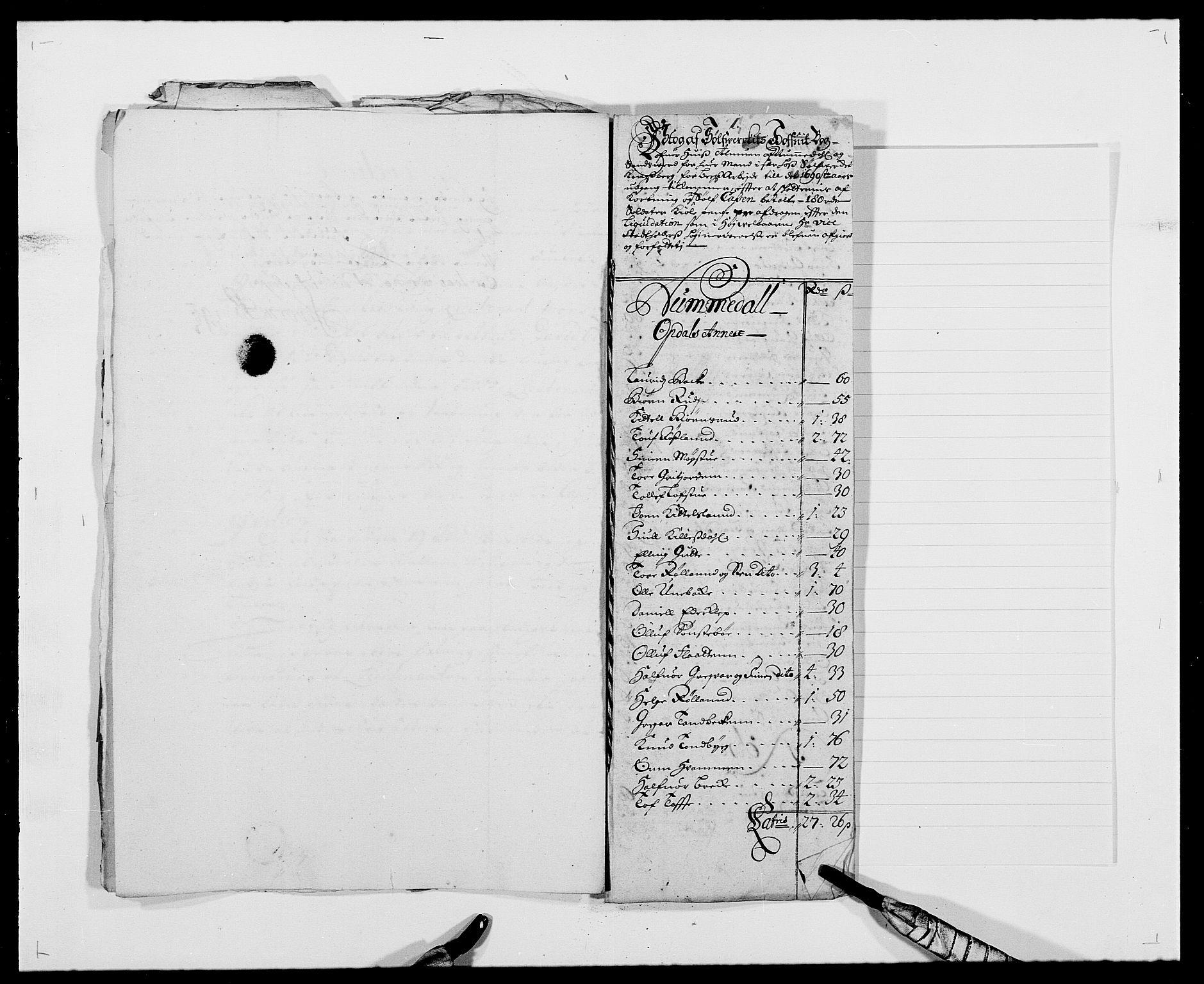 RA, Rentekammeret inntil 1814, Reviderte regnskaper, Fogderegnskap, R24/L1574: Fogderegnskap Numedal og Sandsvær, 1688-1691, s. 260