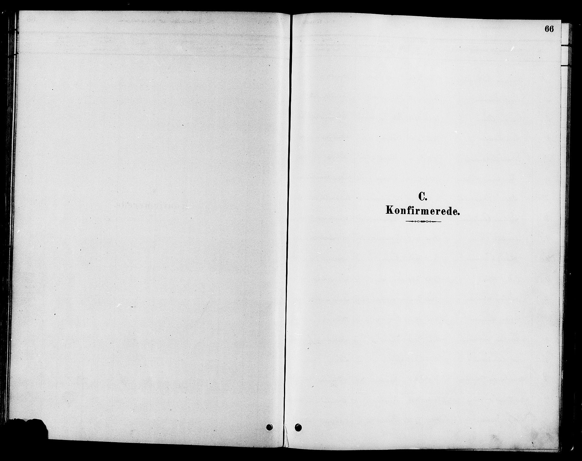 SAH, Gran prestekontor, Ministerialbok nr. 16, 1880-1888, s. 66