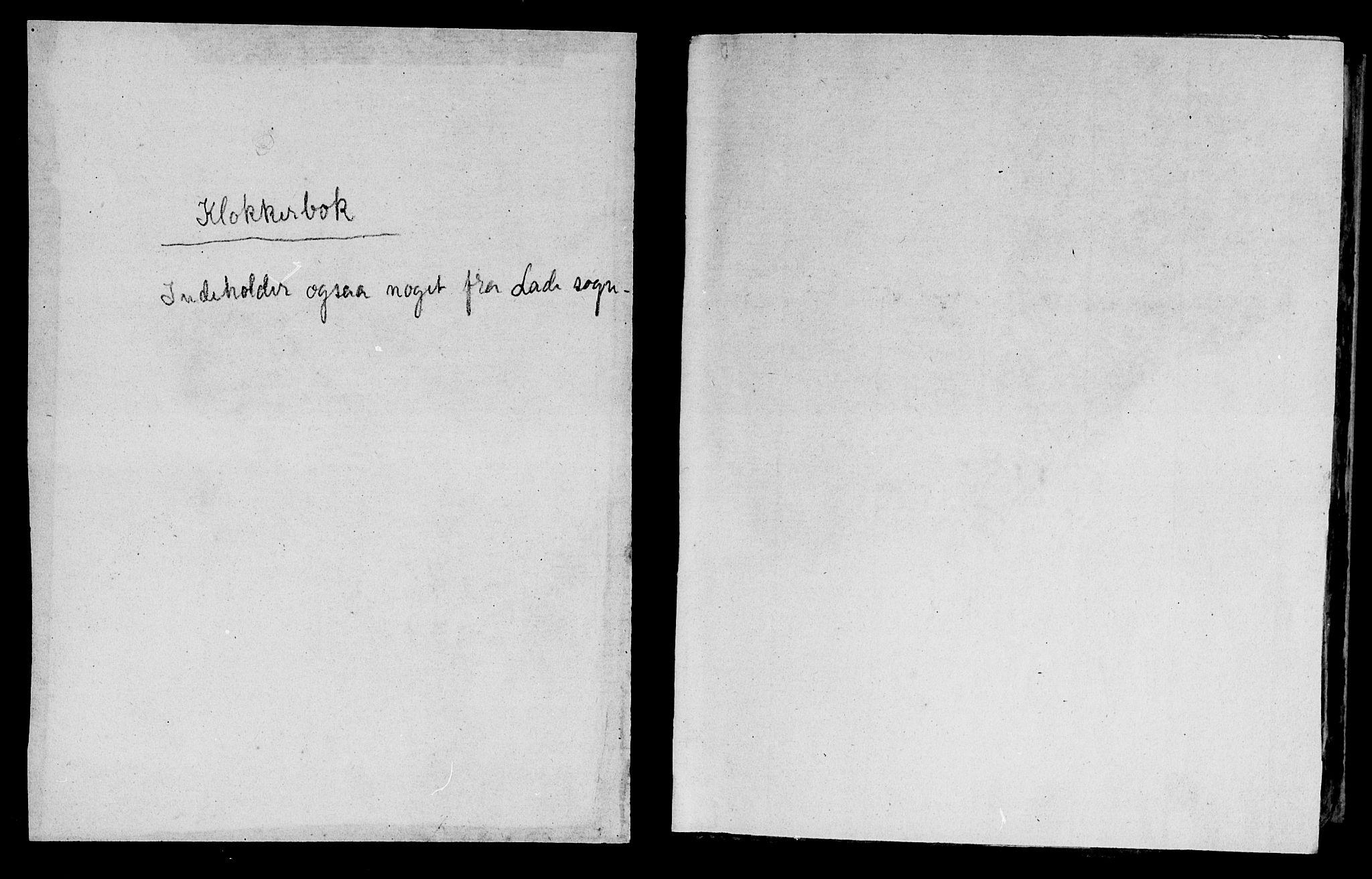 SAT, Ministerialprotokoller, klokkerbøker og fødselsregistre - Sør-Trøndelag, 604/L0218: Klokkerbok nr. 604C01, 1754-1819