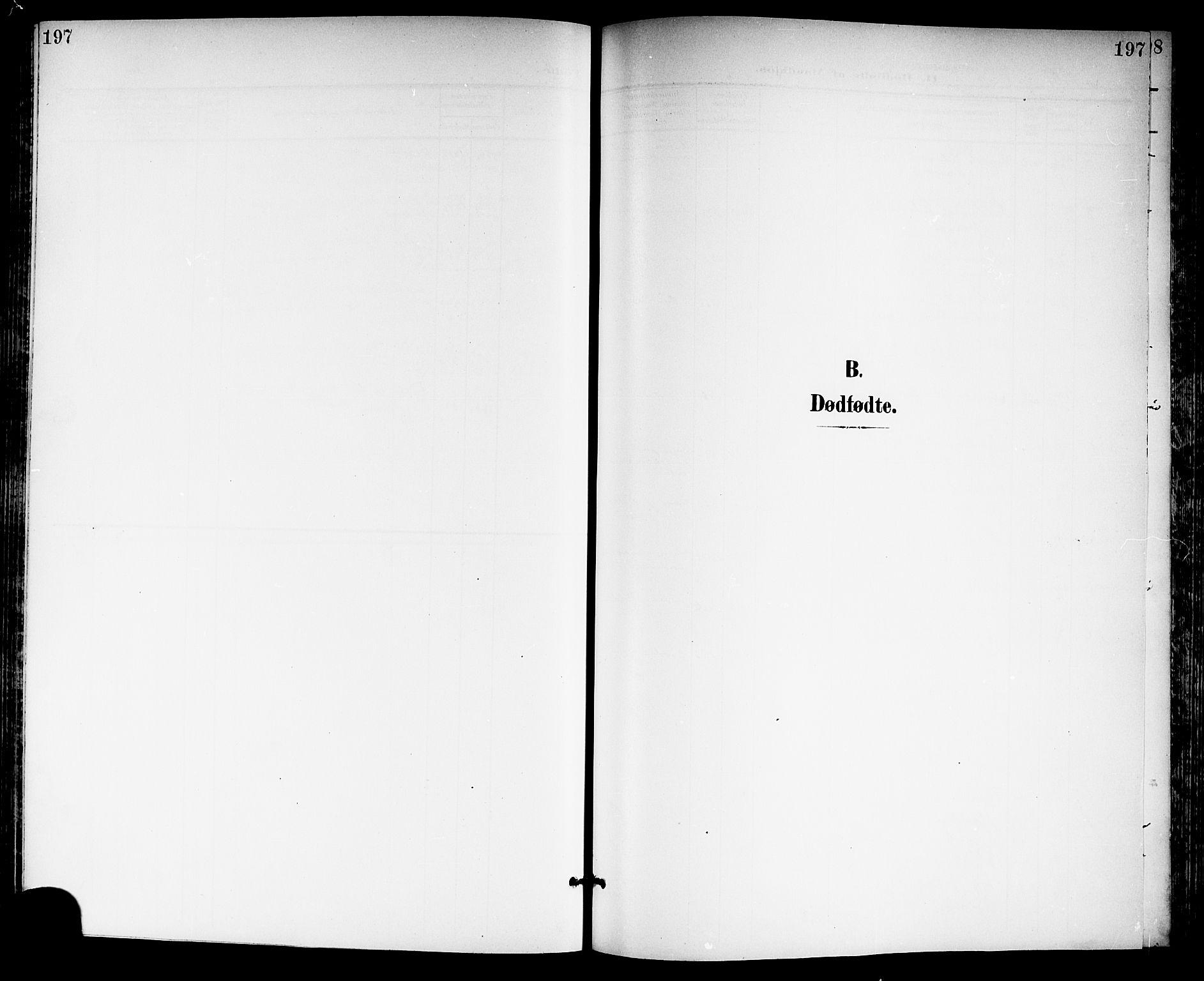 SAKO, Gjerpen kirkebøker, G/Ga/L0003: Klokkerbok nr. I 3, 1901-1919, s. 197