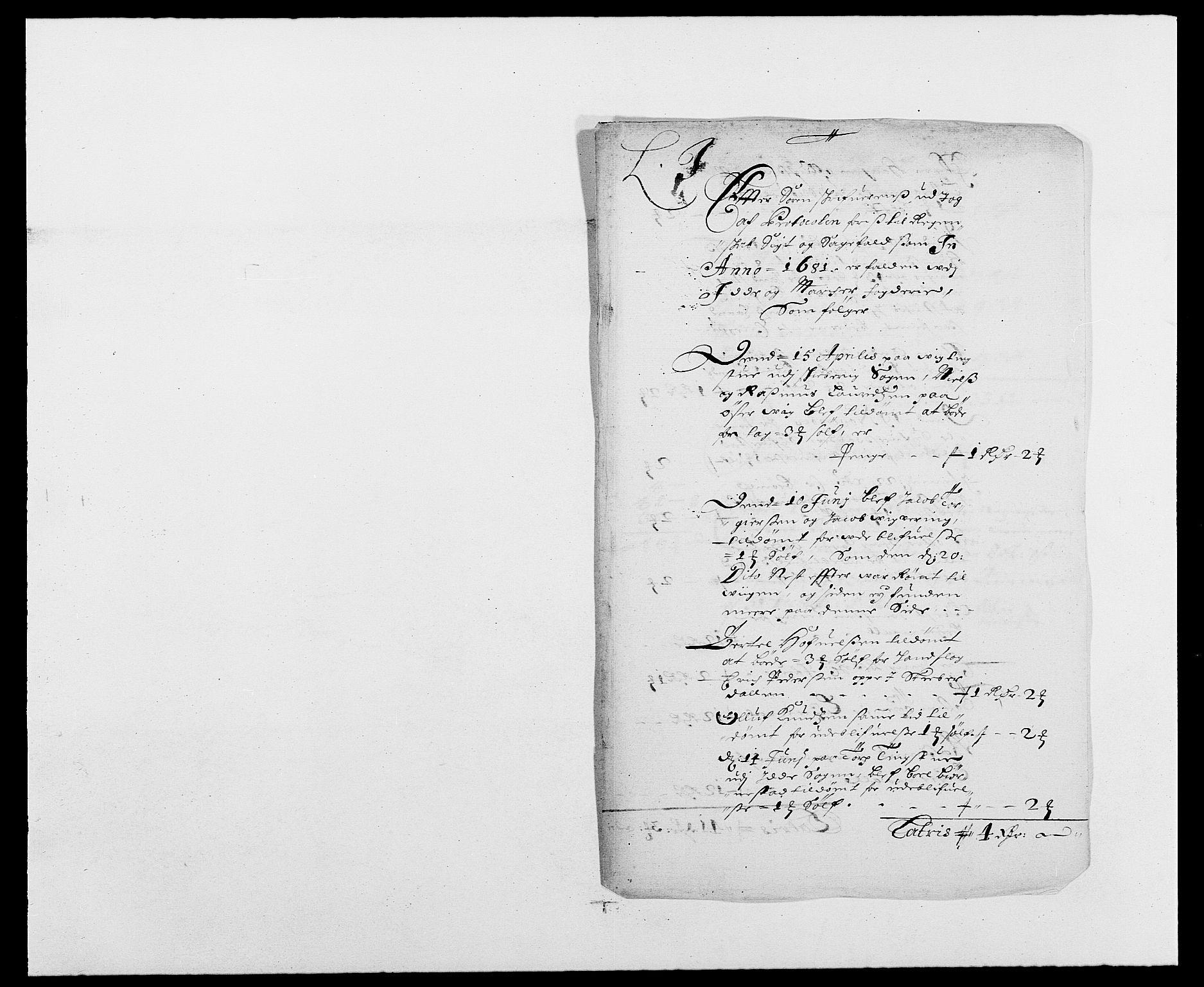 RA, Rentekammeret inntil 1814, Reviderte regnskaper, Fogderegnskap, R01/L0003: Fogderegnskap Idd og Marker, 1678-1681, s. 51