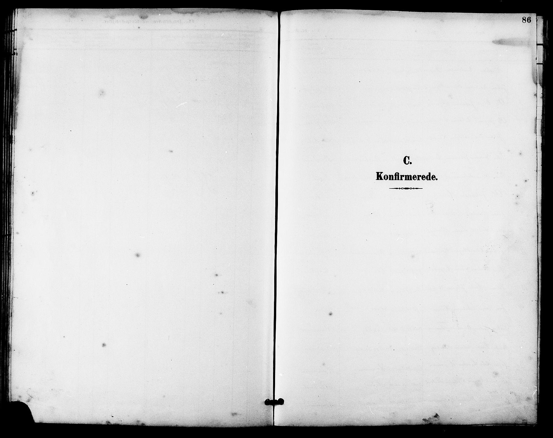 SAT, Ministerialprotokoller, klokkerbøker og fødselsregistre - Sør-Trøndelag, 641/L0598: Klokkerbok nr. 641C02, 1893-1910, s. 86