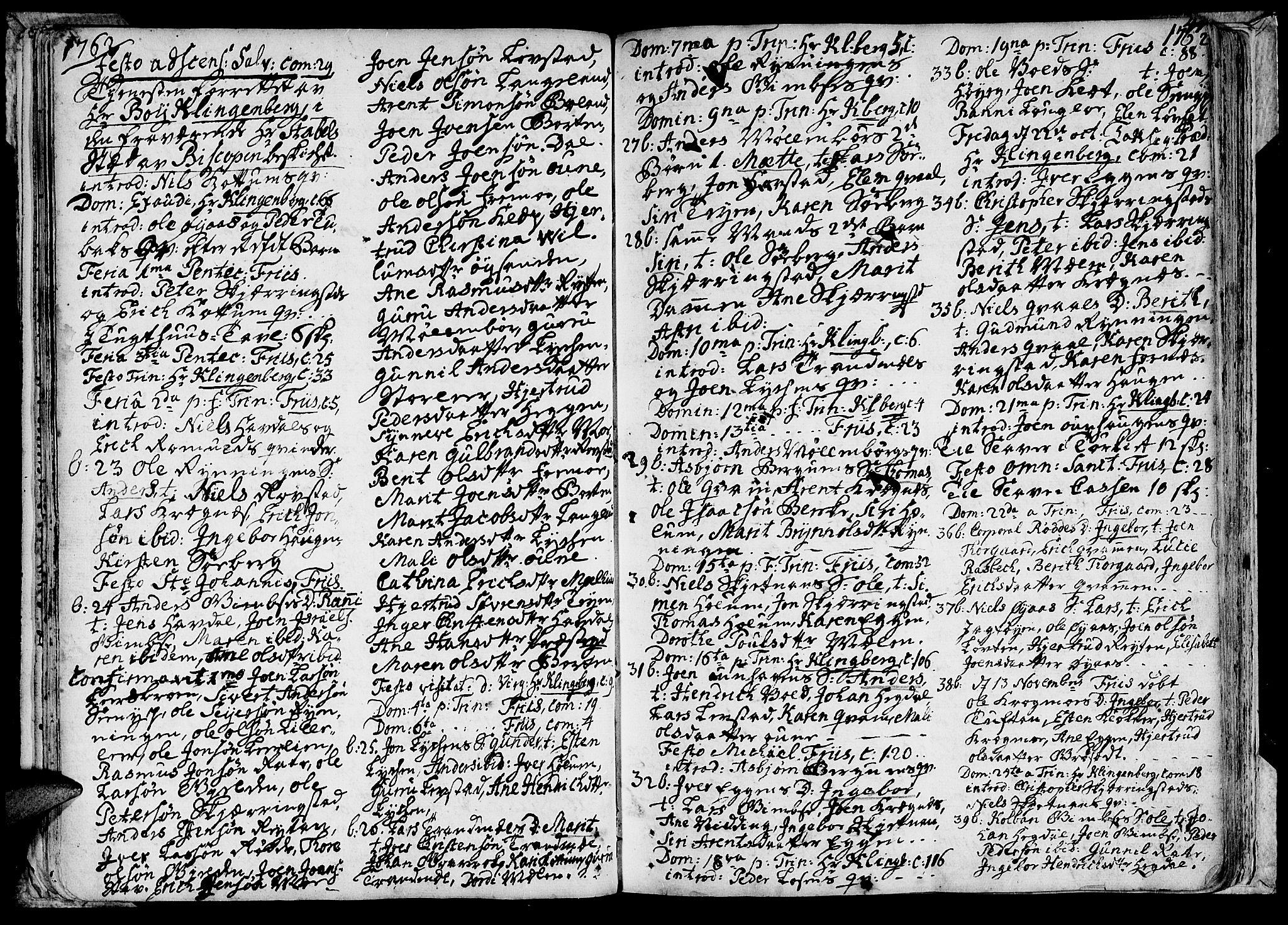 SAT, Ministerialprotokoller, klokkerbøker og fødselsregistre - Sør-Trøndelag, 691/L1057: Ministerialbok nr. 691A01 /1, 1740-1767, s. 44