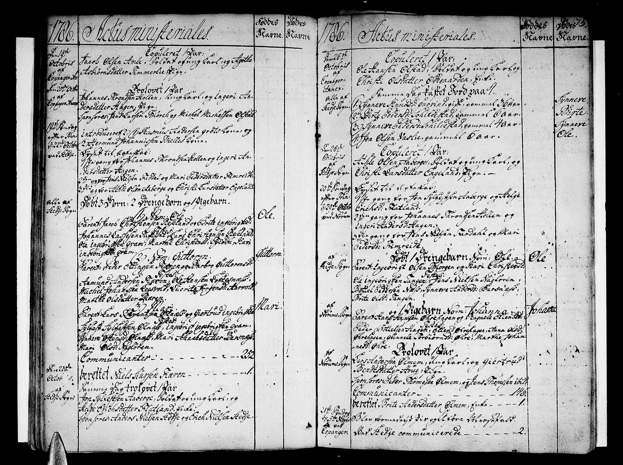 SAB, Sogndal Sokneprestembete, Ministerialbok nr. A 7, 1782-1795, s. 75