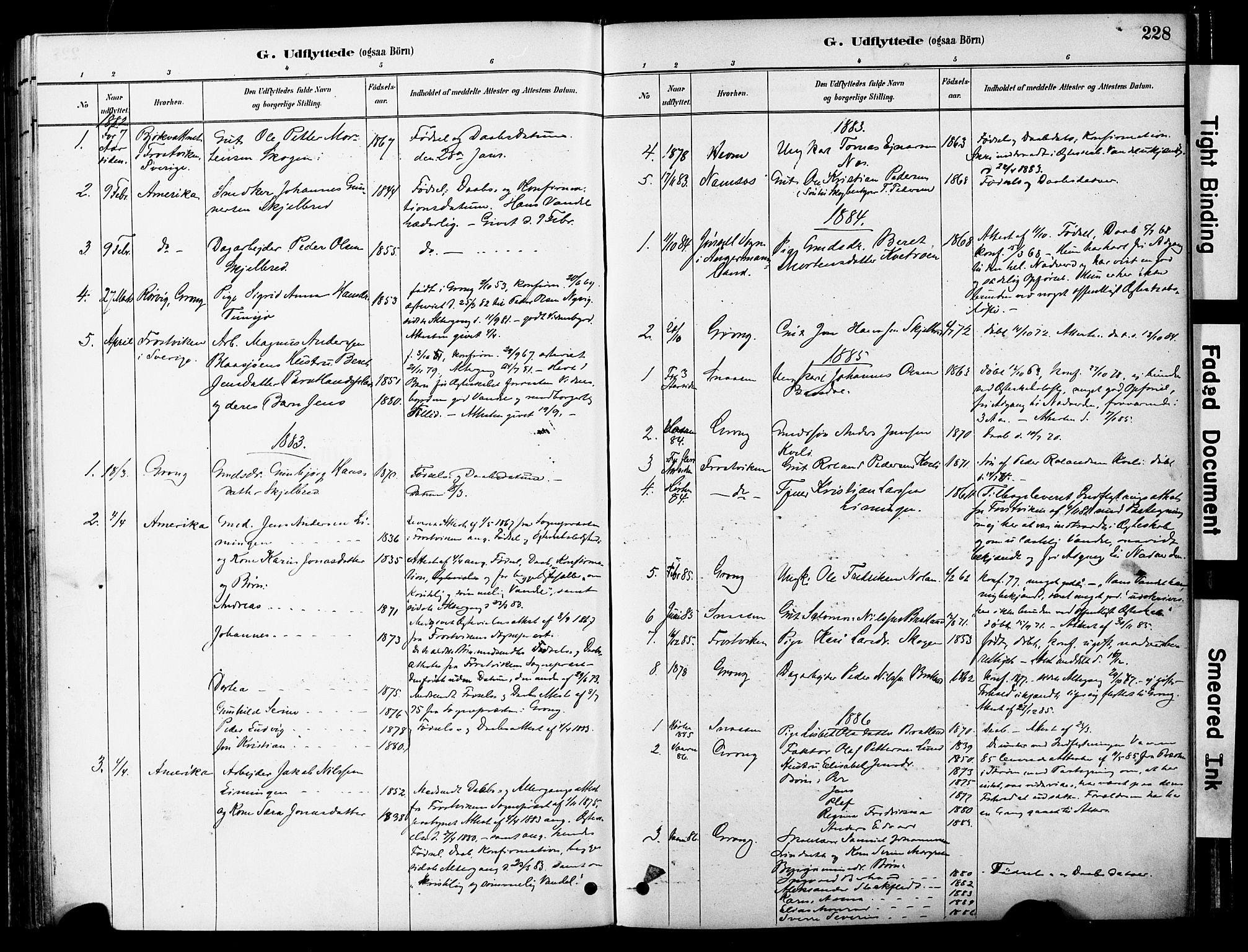 SAT, Ministerialprotokoller, klokkerbøker og fødselsregistre - Nord-Trøndelag, 755/L0494: Ministerialbok nr. 755A03, 1882-1902, s. 228