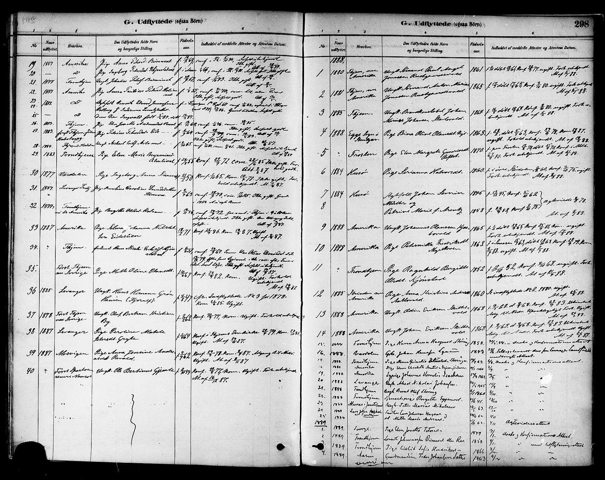 SAT, Ministerialprotokoller, klokkerbøker og fødselsregistre - Nord-Trøndelag, 717/L0159: Ministerialbok nr. 717A09, 1878-1898, s. 298