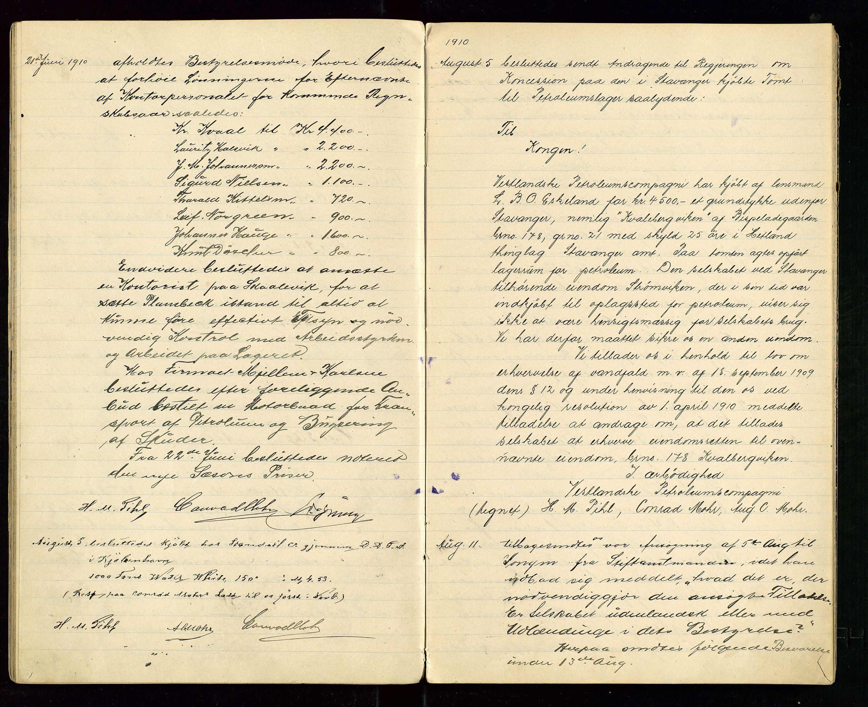 SAST, PA 1533 - A/S Vestlandske Petroleumscompani, A/Aa/L0001: Generalforsamlinger og styreprotokoller, 1907-1915, s. 32