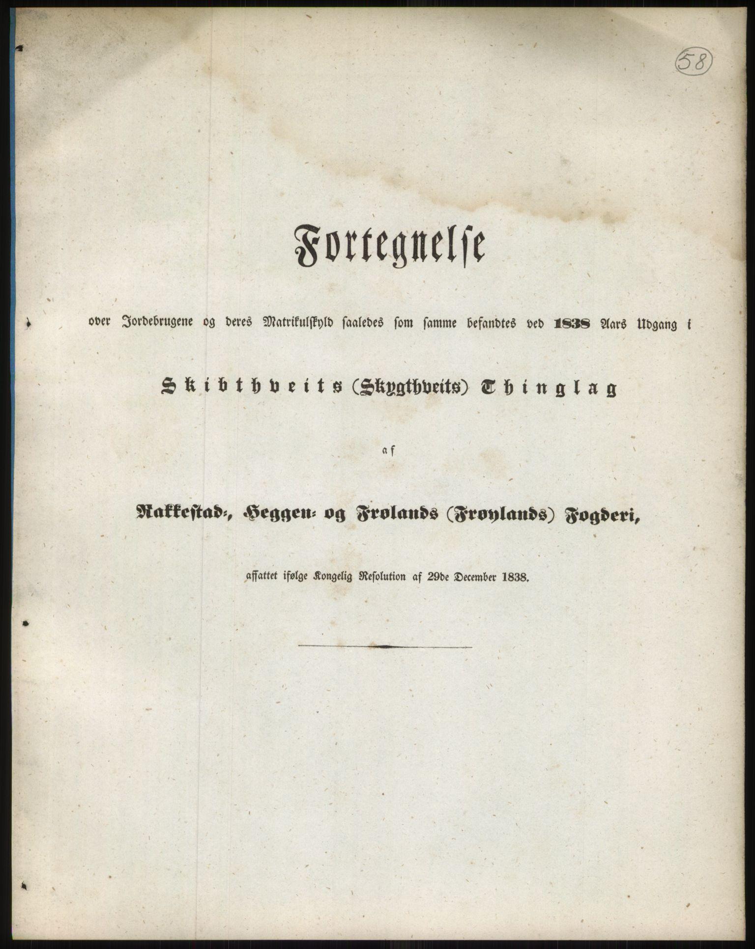 RA, 1838-matrikkelen (publikasjon)*, 1838, s. 100