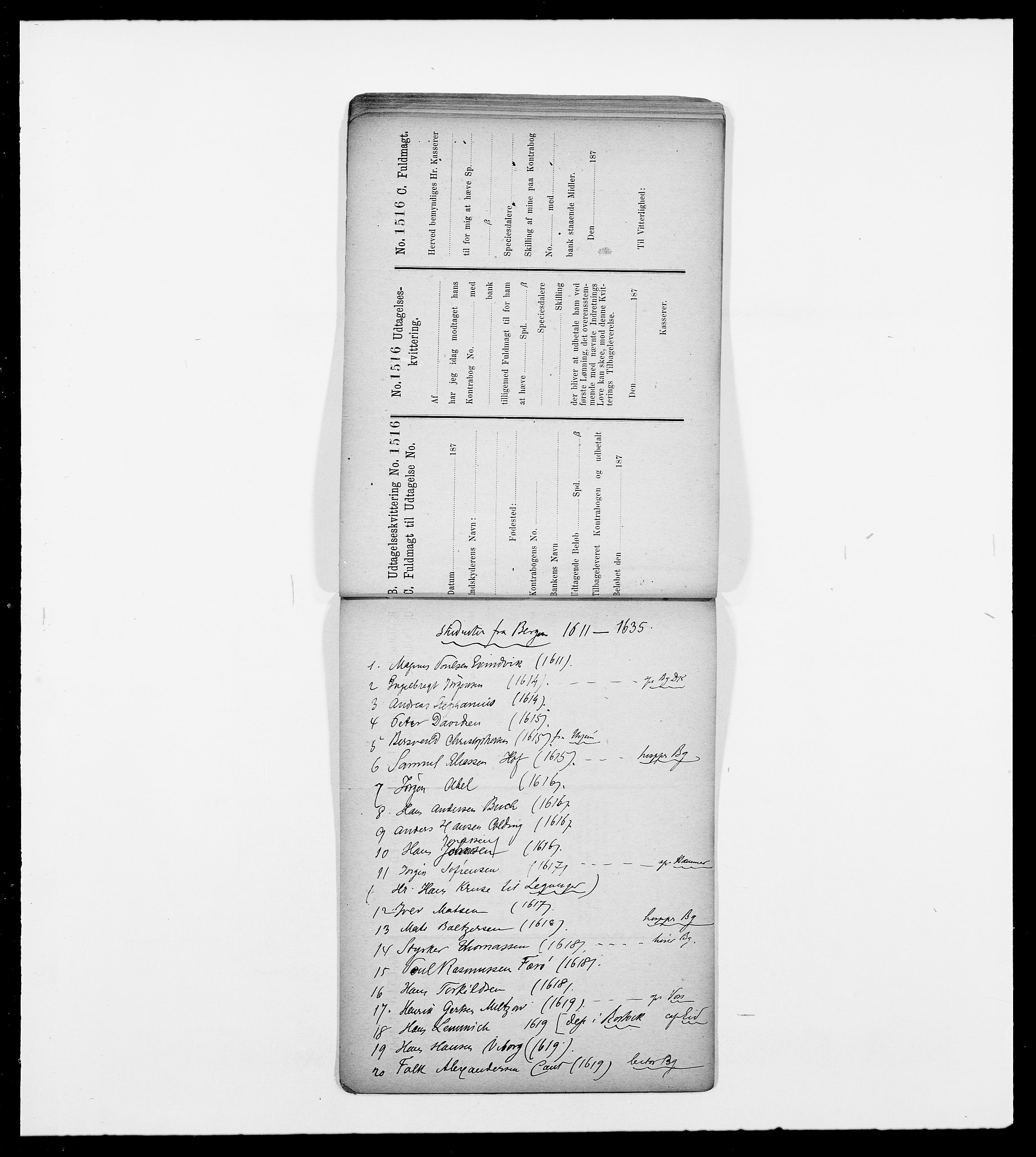 SAO, Delgobe, Charles Antoine - samling, D/Db/L0001: Tilleggspakke, s. 35