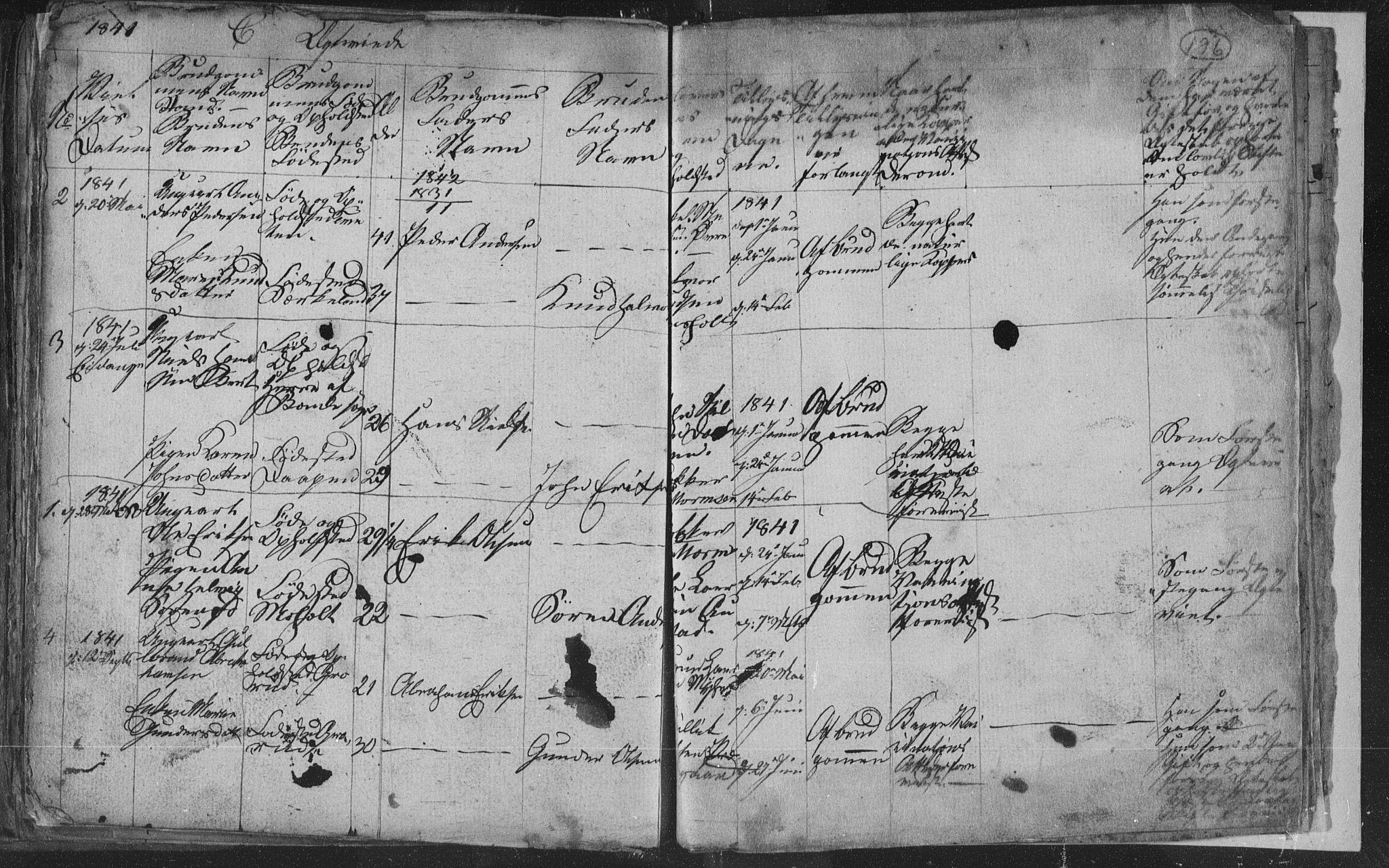 SAKO, Siljan kirkebøker, G/Ga/L0001: Klokkerbok nr. 1, 1827-1847, s. 196