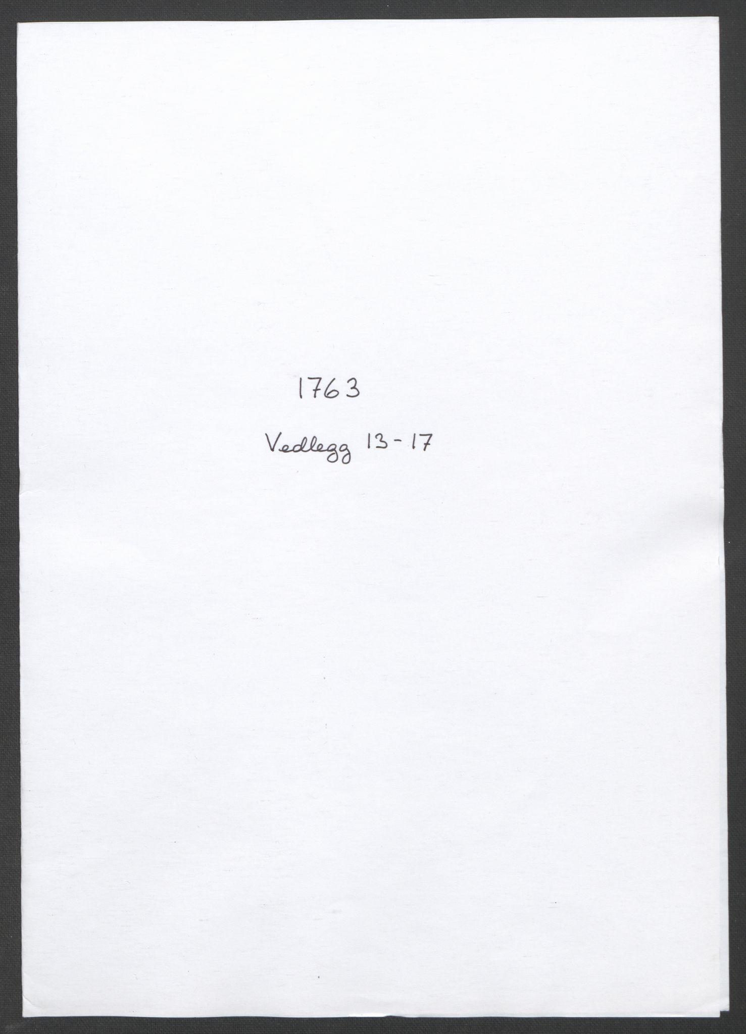 RA, Rentekammeret inntil 1814, Reviderte regnskaper, Fogderegnskap, R11/L0688: Ekstraskatten Nedre Romerike, 1763, s. 315