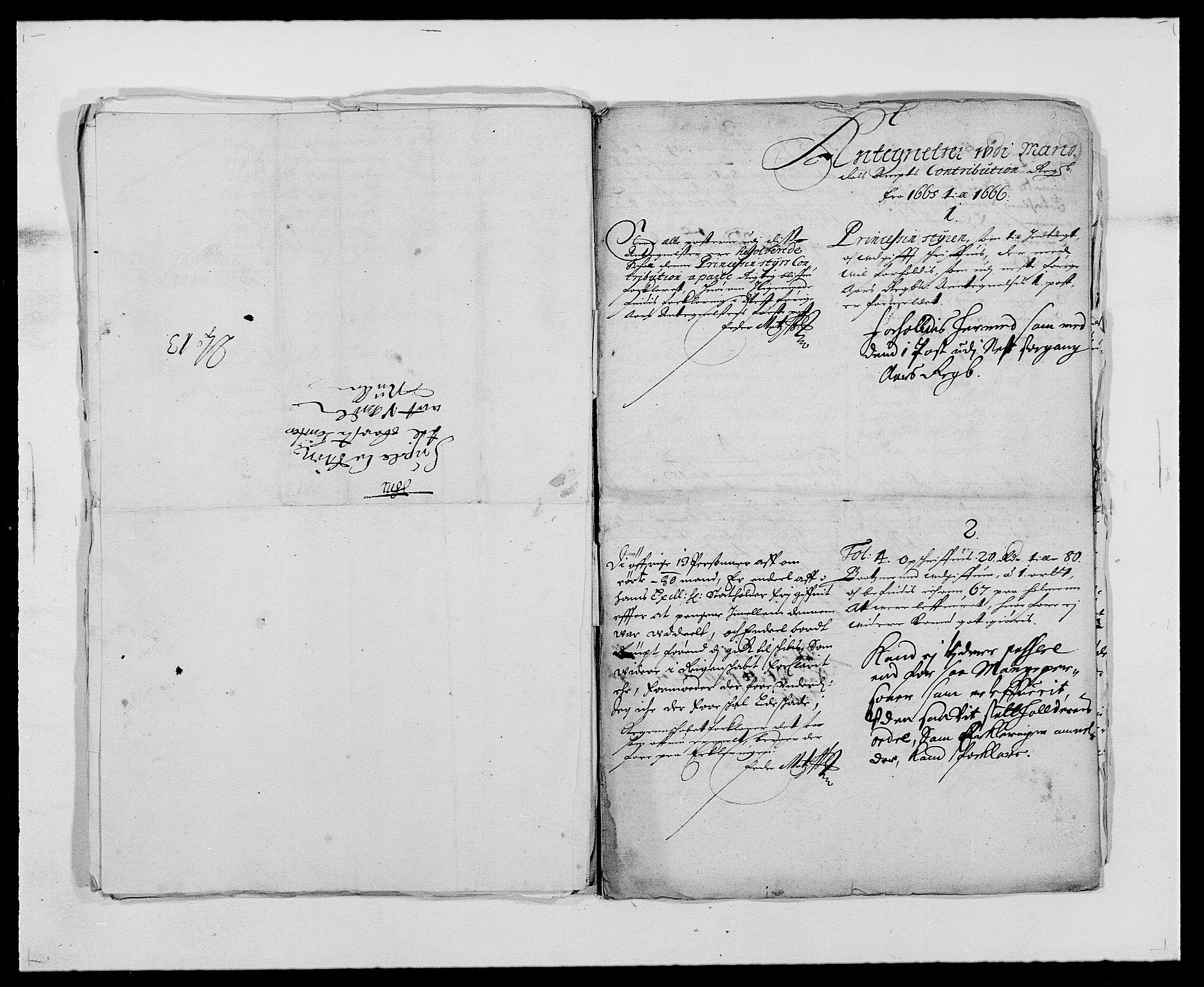 RA, Rentekammeret inntil 1814, Reviderte regnskaper, Fogderegnskap, R42/L2537: Mandal fogderi, 1664-1666, s. 190
