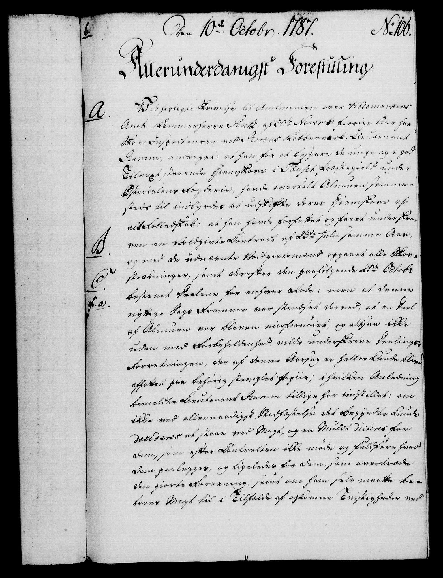 RA, Rentekammeret, Kammerkanselliet, G/Gf/Gfa/L0069: Norsk relasjons- og resolusjonsprotokoll (merket RK 52.69), 1787, s. 1071