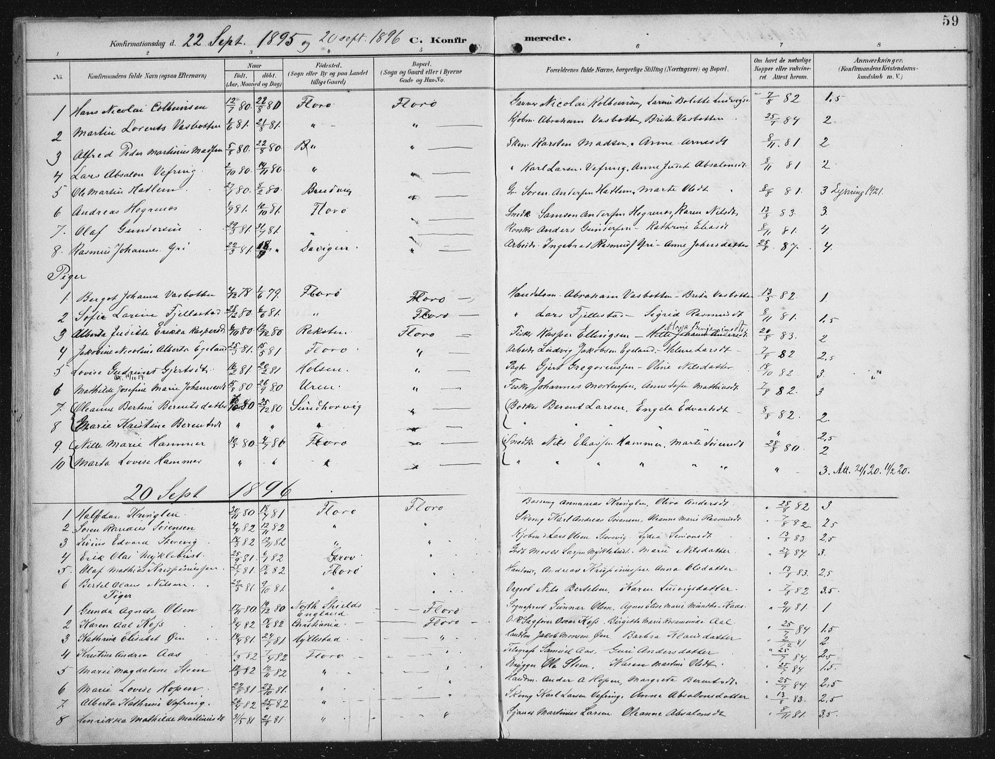 SAB, Kinn sokneprestembete, H/Haa/Haac/L0002: Ministerialbok nr. C  2, 1895-1916, s. 59