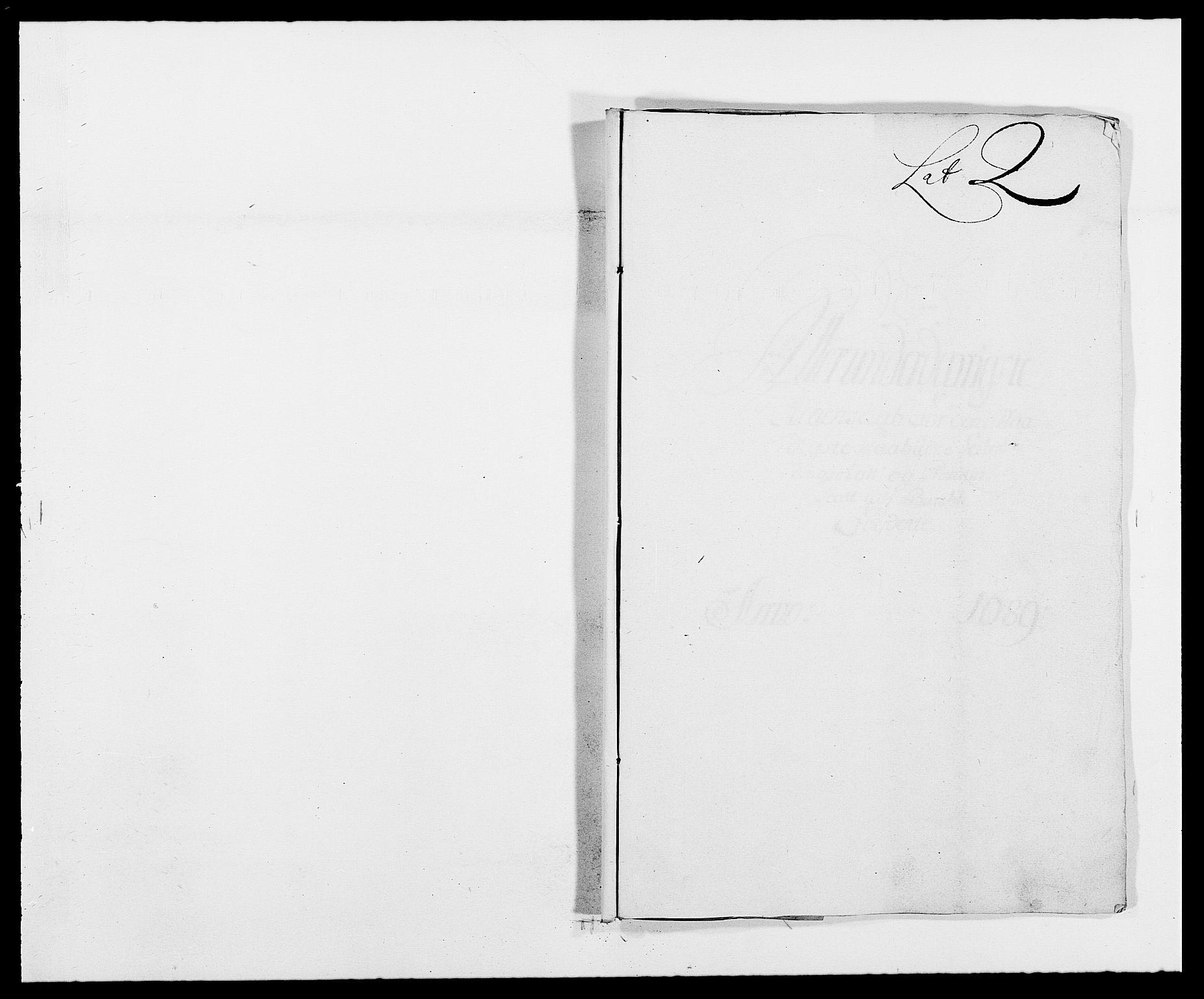 RA, Rentekammeret inntil 1814, Reviderte regnskaper, Fogderegnskap, R34/L2050: Fogderegnskap Bamble, 1688-1691, s. 271