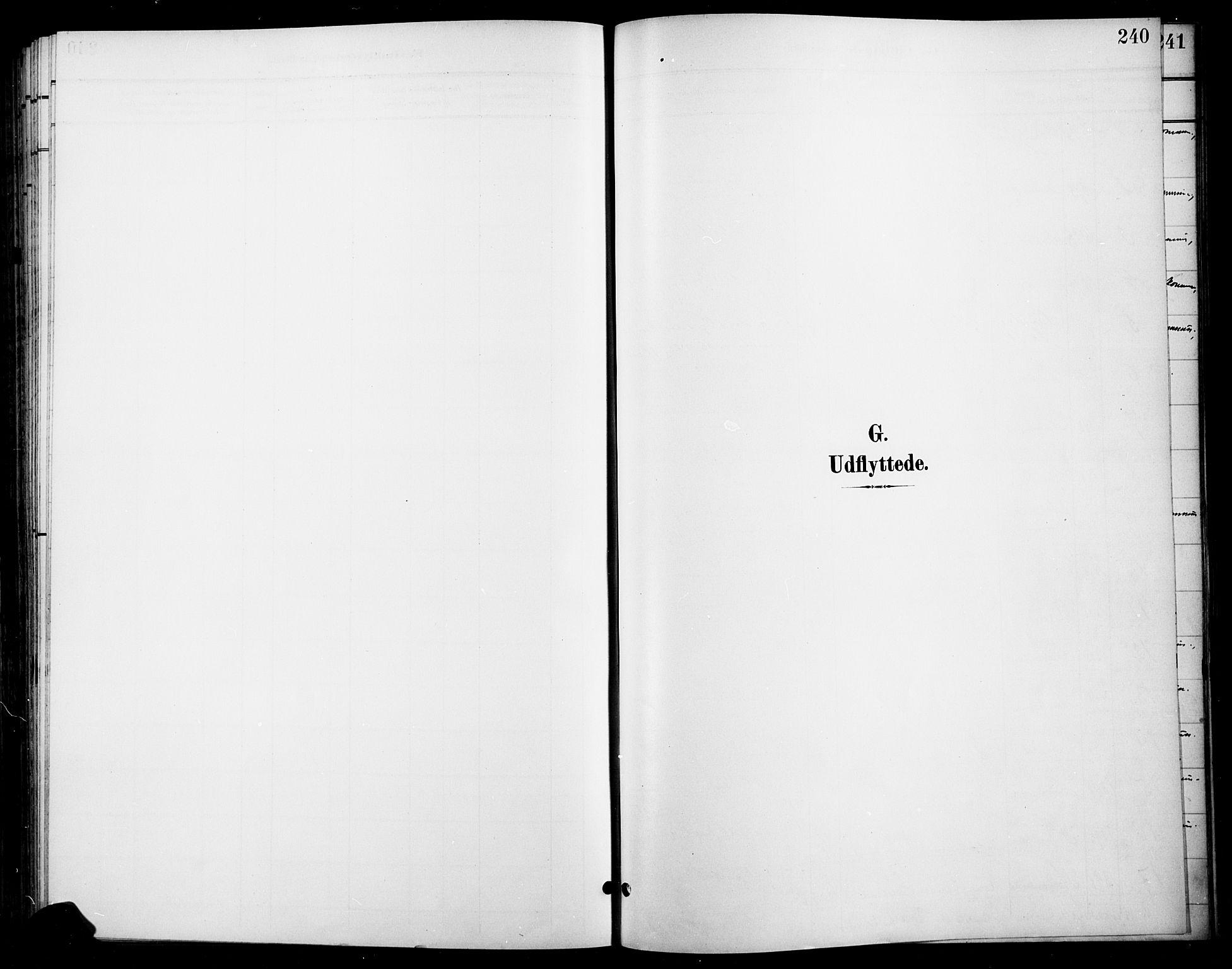 SAH, Gran prestekontor, Ministerialbok nr. 19, 1898-1907, s. 240