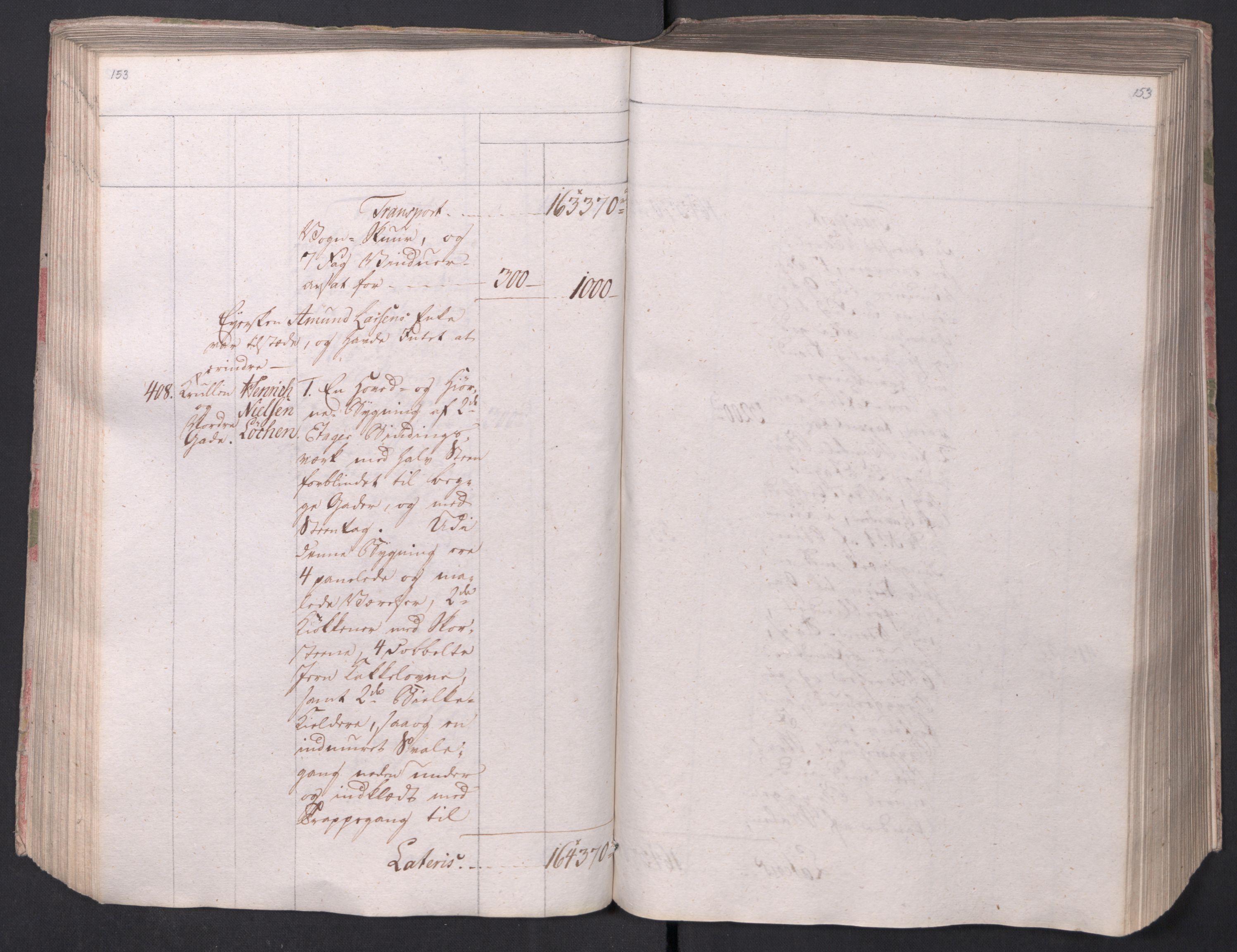 SAO, Kristiania stiftamt, I/Ia/L0015: Branntakster, 1797, s. 153