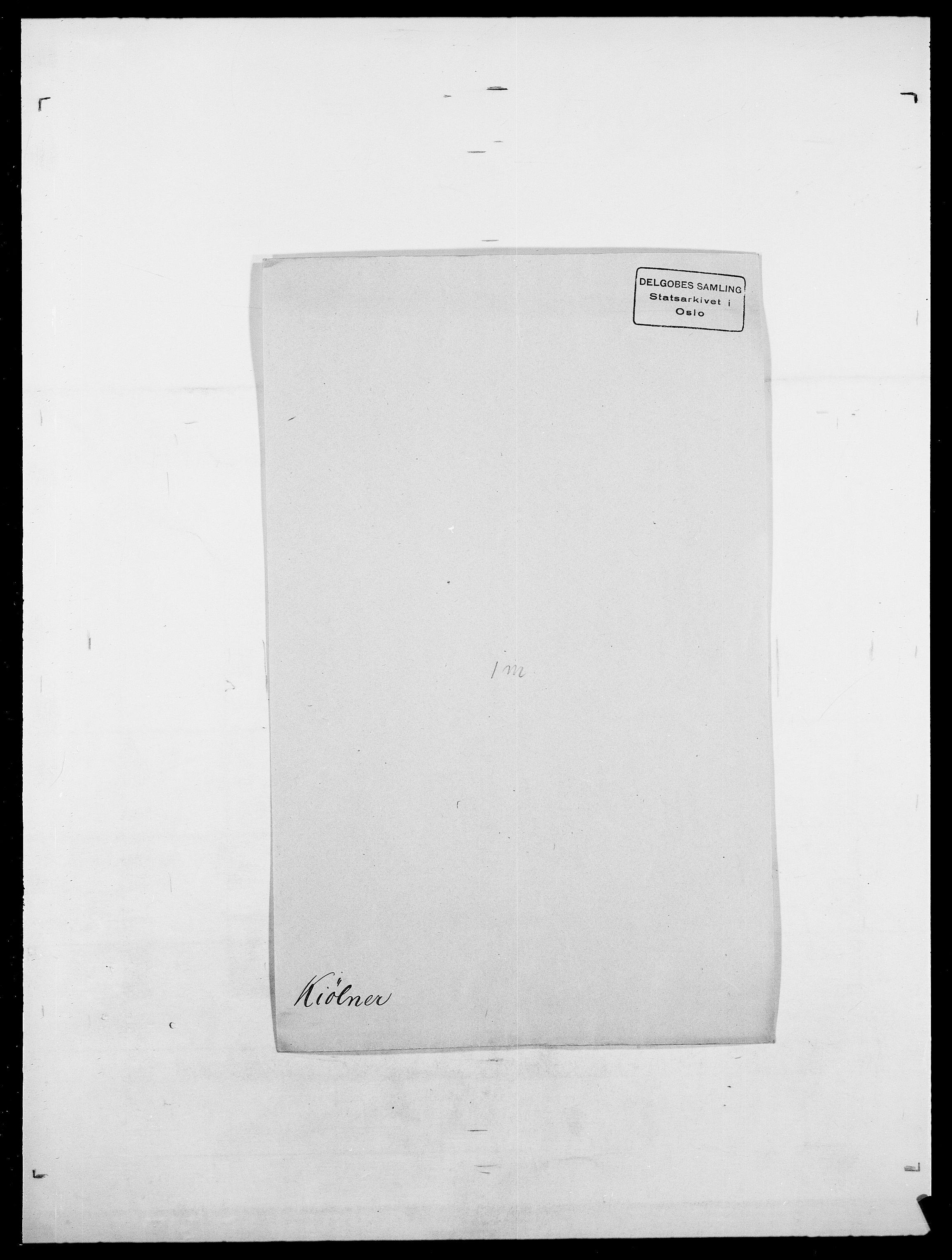 SAO, Delgobe, Charles Antoine - samling, D/Da/L0020: Irgens - Kjøsterud, s. 692