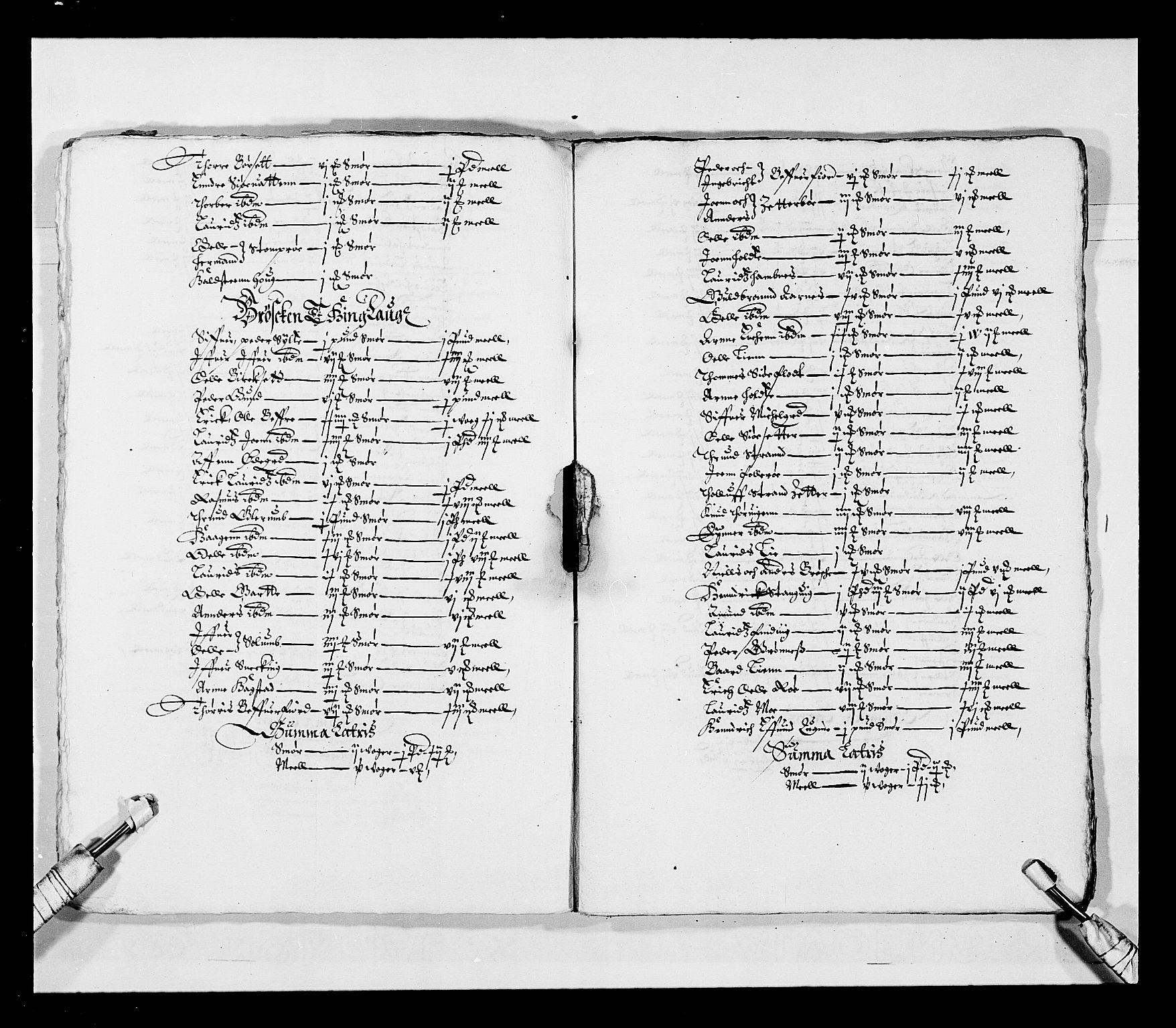 RA, Stattholderembetet 1572-1771, Ek/L0028: Jordebøker 1633-1658:, 1645-1646, s. 10