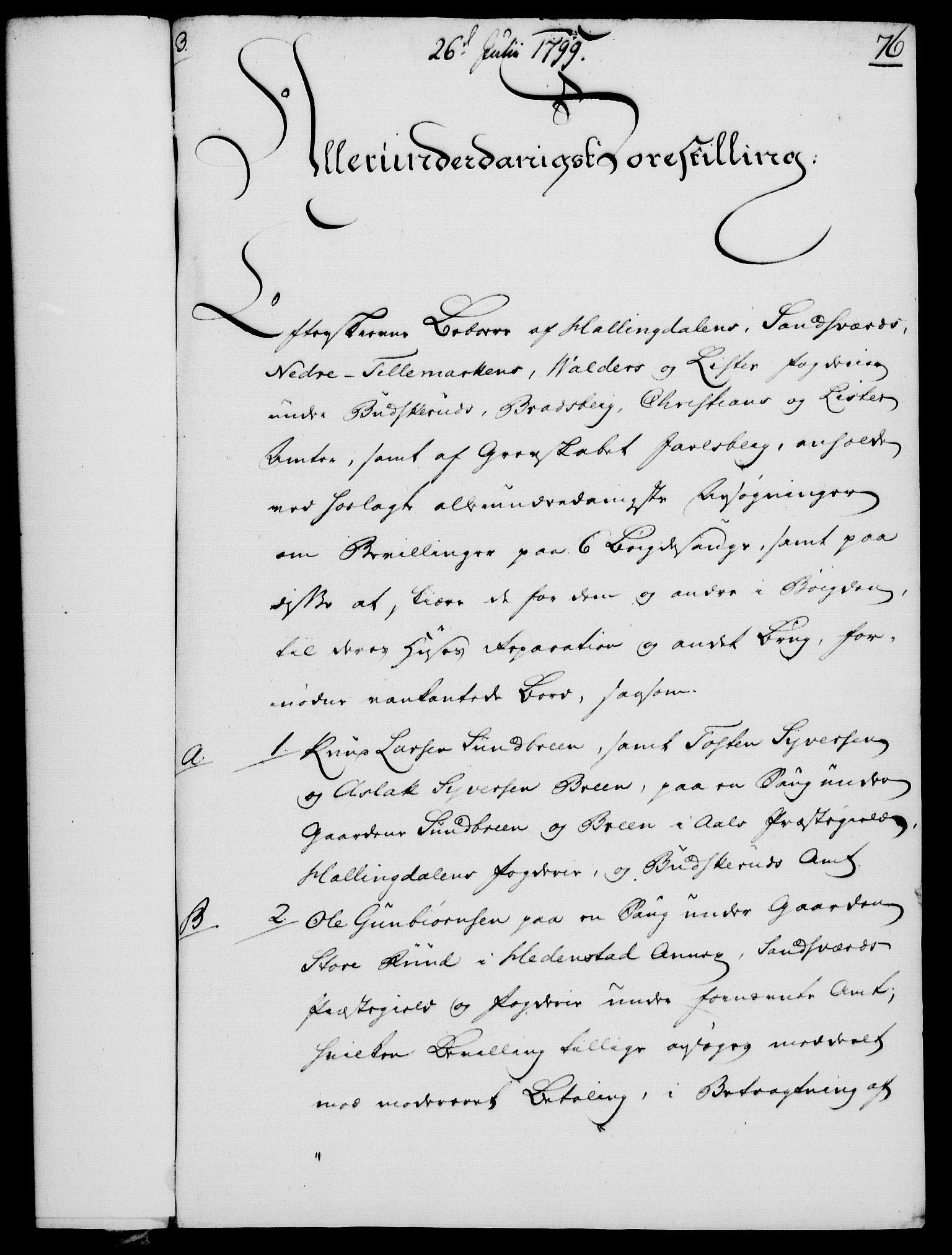 RA, Rentekammeret, Kammerkanselliet, G/Gf/Gfa/L0081: Norsk relasjons- og resolusjonsprotokoll (merket RK 52.81), 1799, s. 465